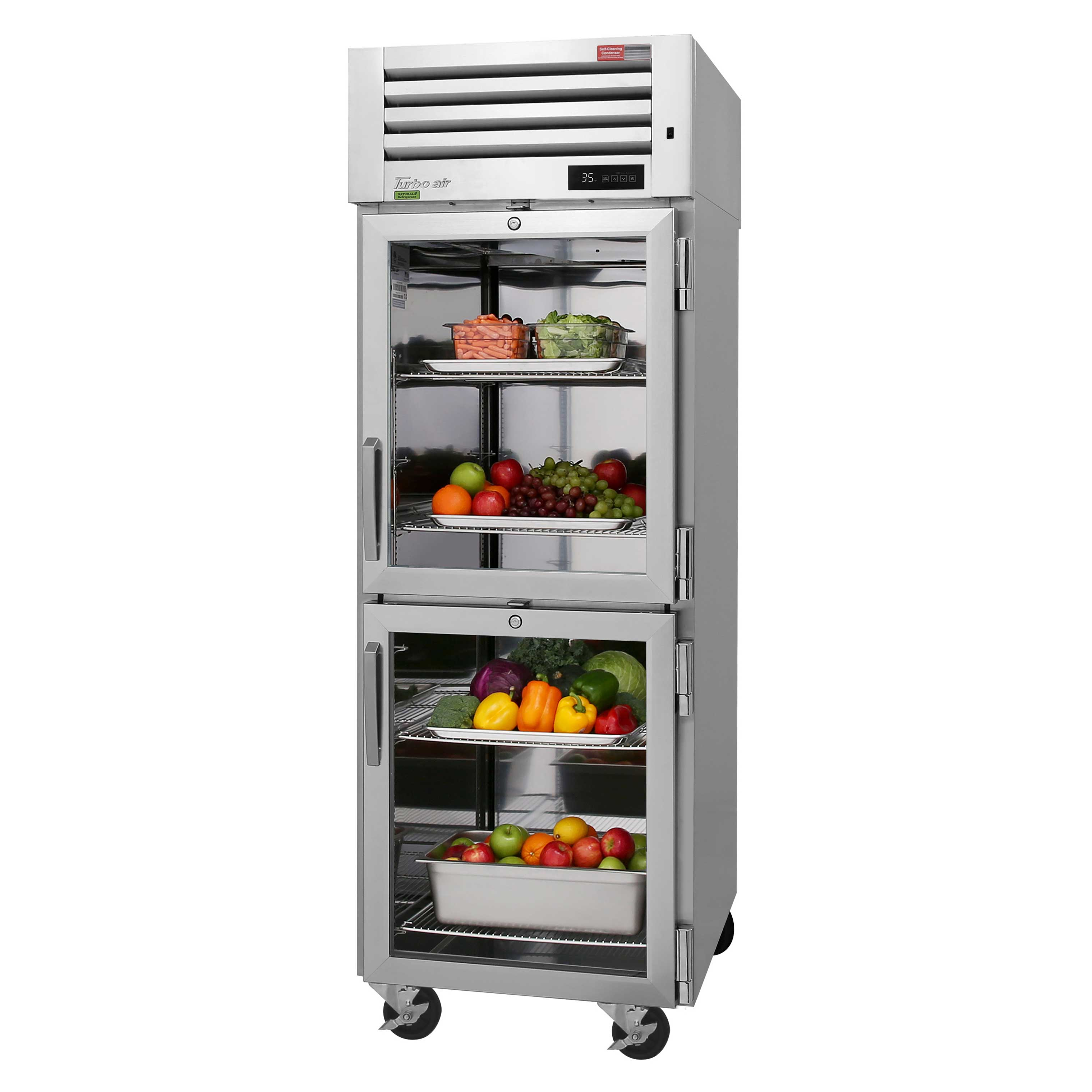Turbo Air PRO-26-2R-G-N refrigerator, reach-in