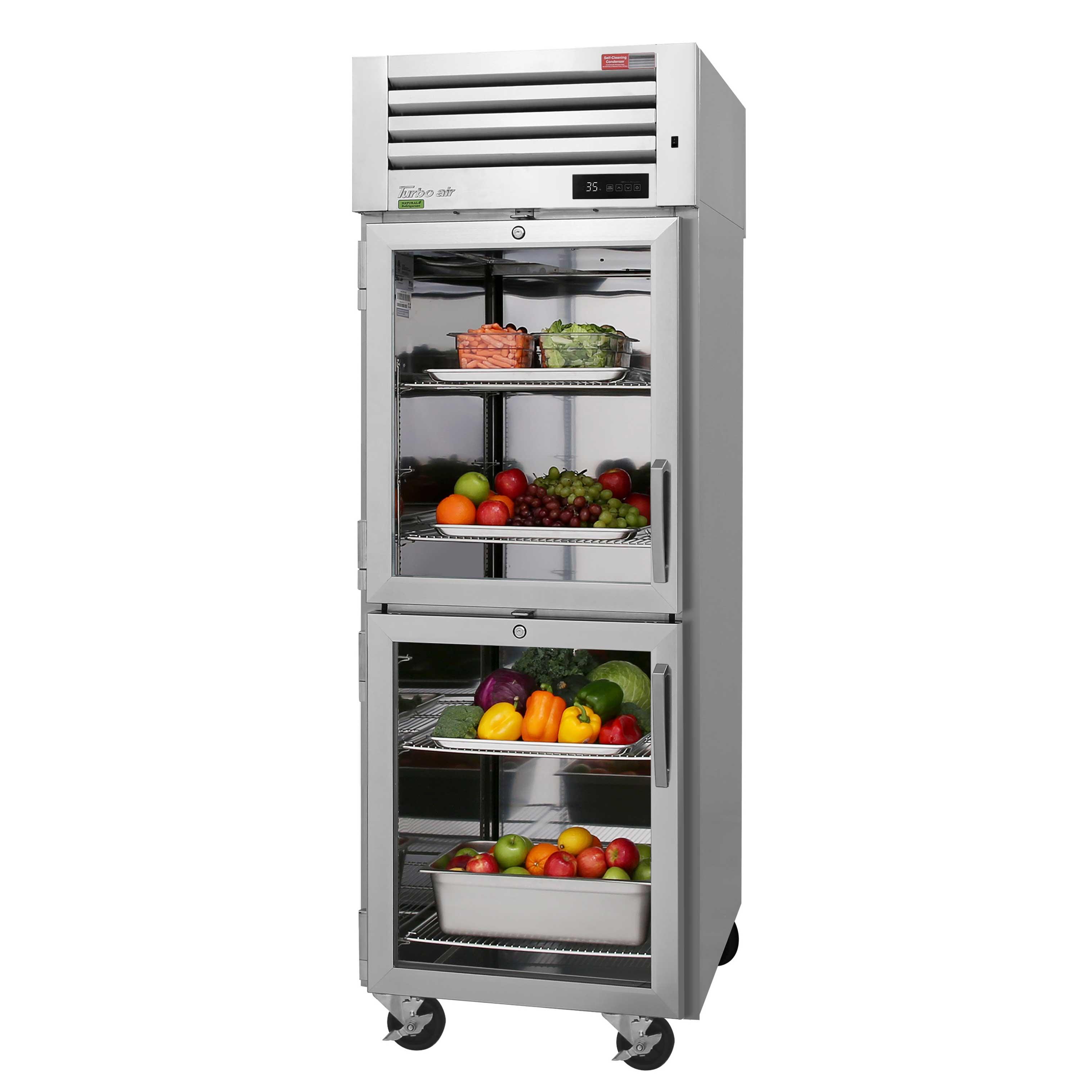 Turbo Air PRO-26-2R-GS-PT-N refrigerator, pass-thru