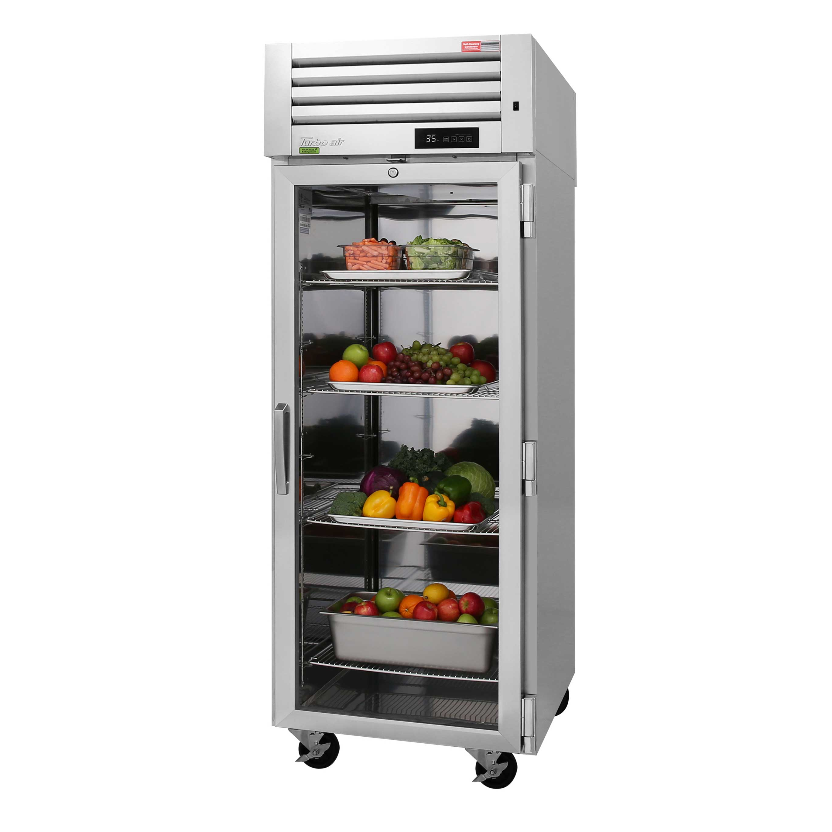 Turbo Air PRO-26R-G-N refrigerator, reach-in