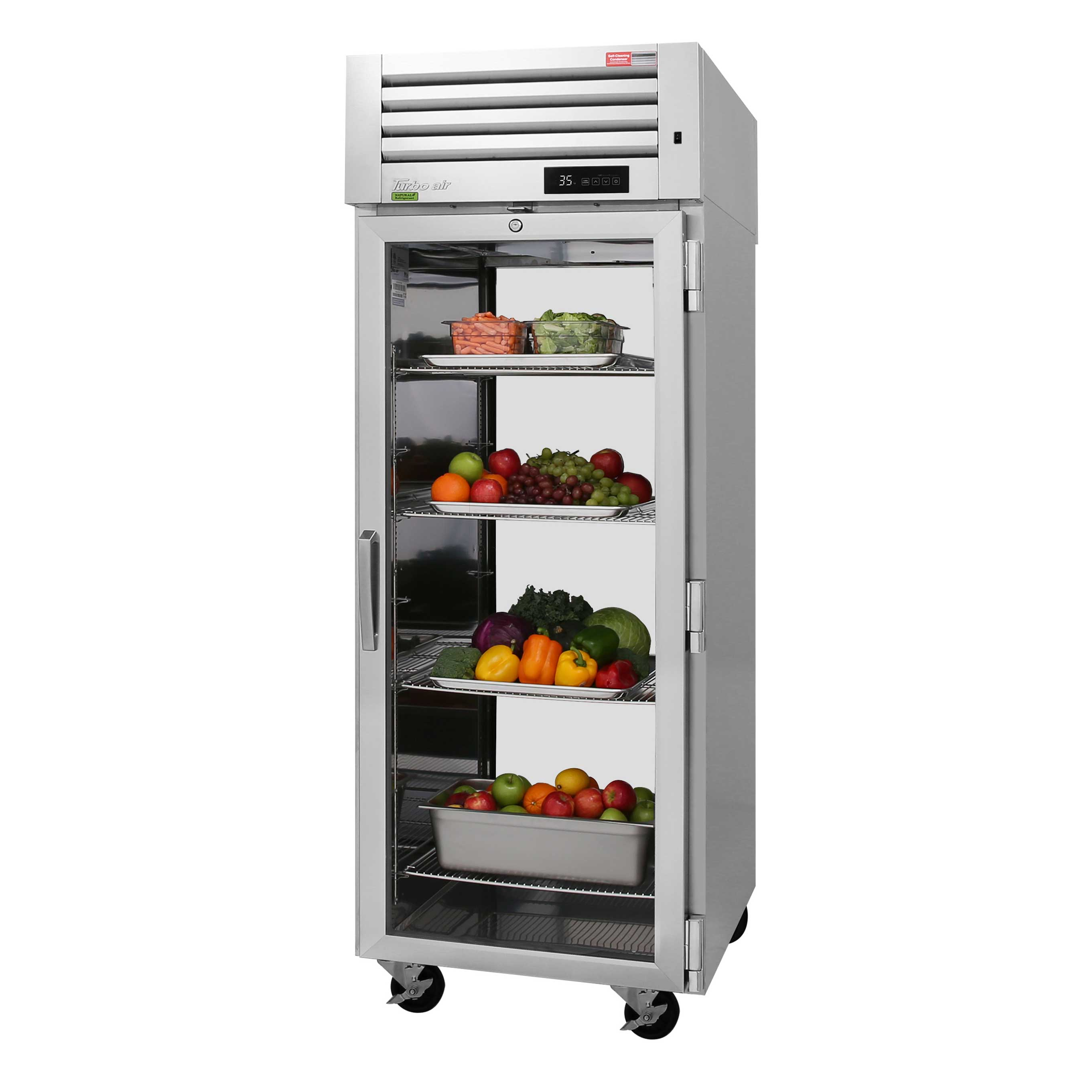 Turbo Air PRO-26R-G-PT-N refrigerator, pass-thru
