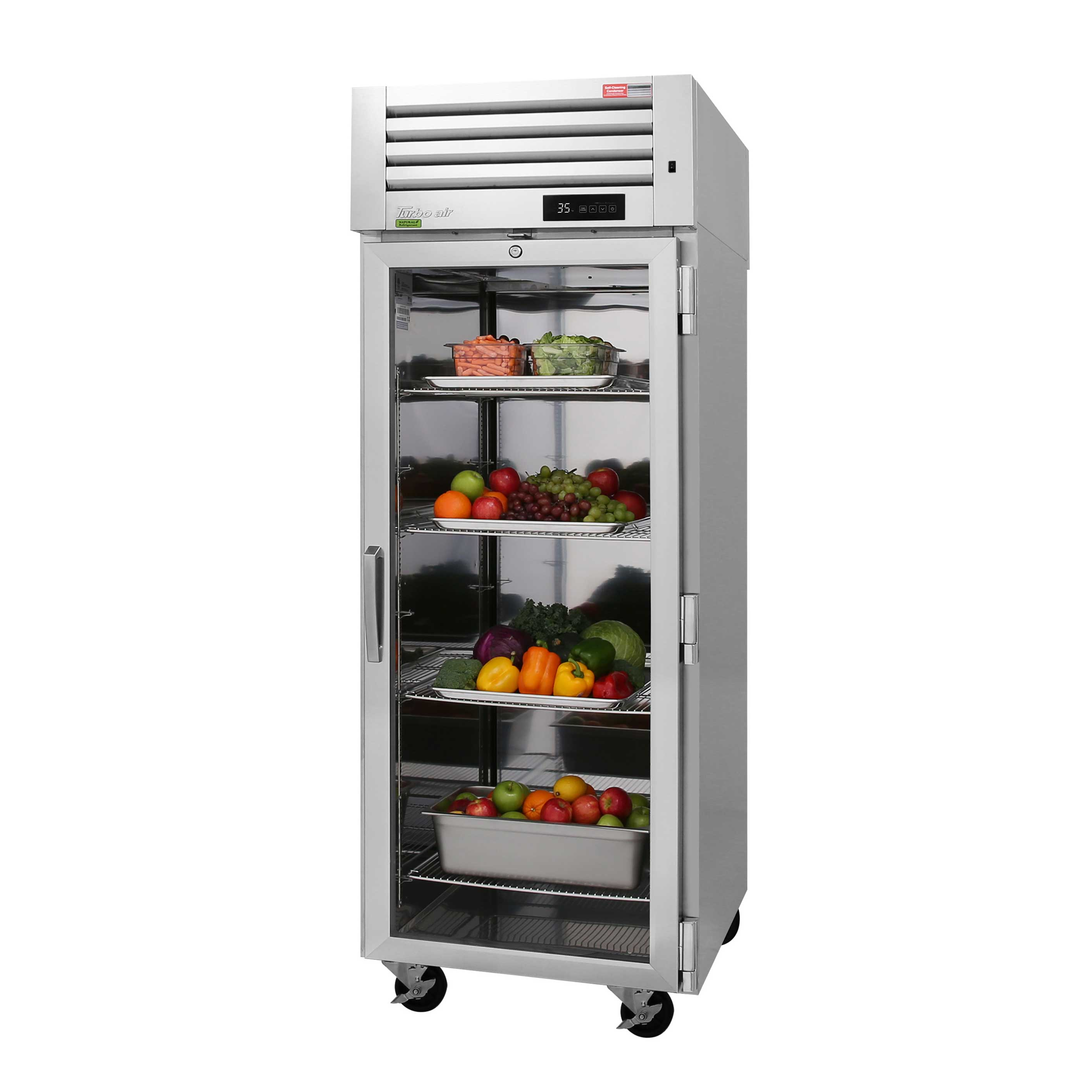 Turbo Air PRO-26R-GS-PT-N refrigerator, pass-thru
