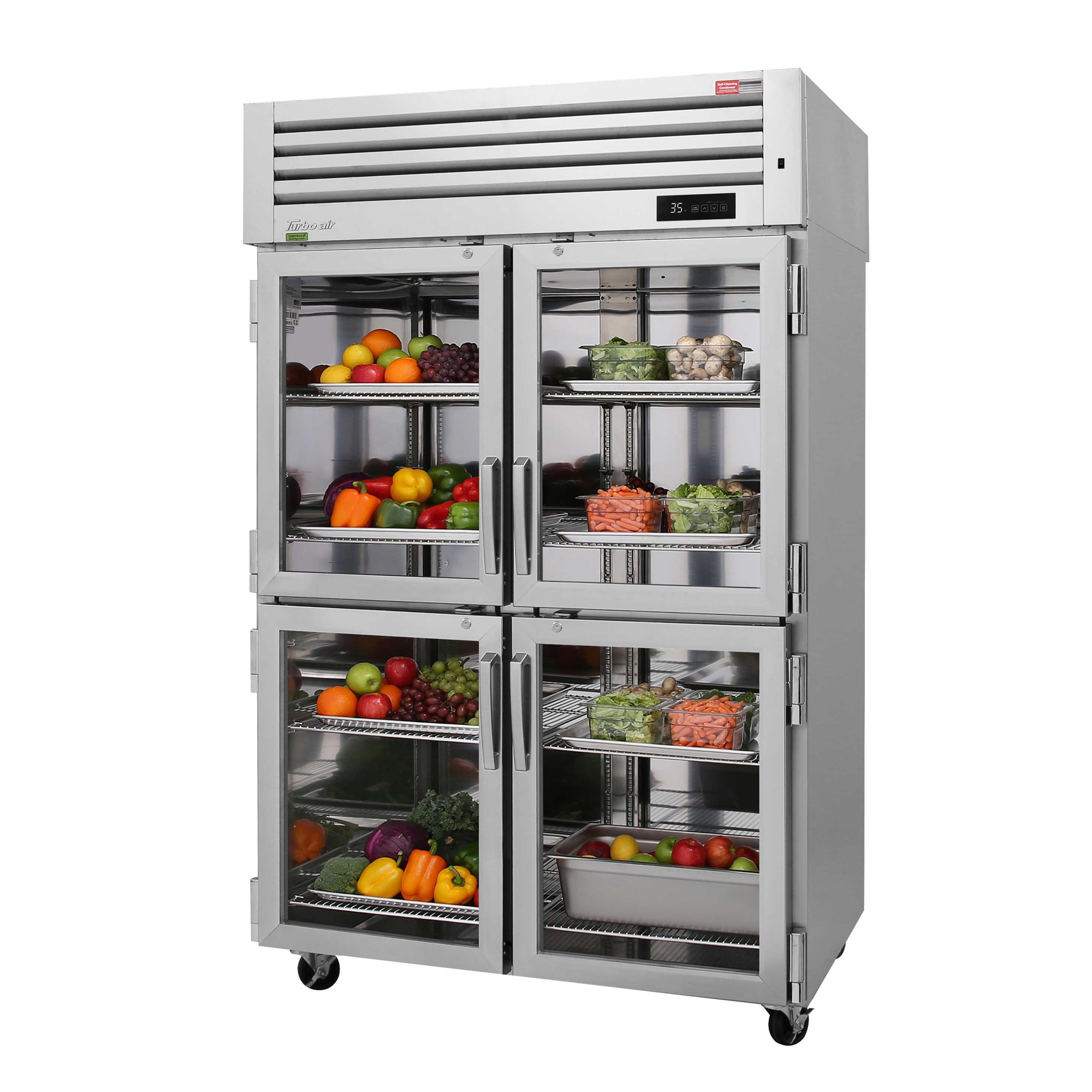 Turbo Air PRO-50-4R-G-N refrigerator, reach-in