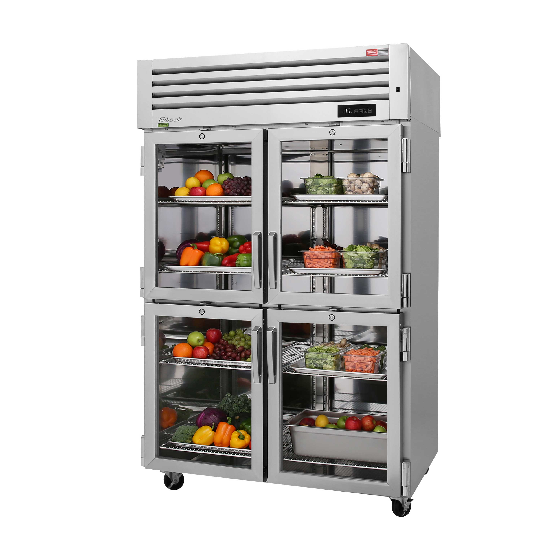 Turbo Air PRO-50-4R-GS-PT-N refrigerator, pass-thru