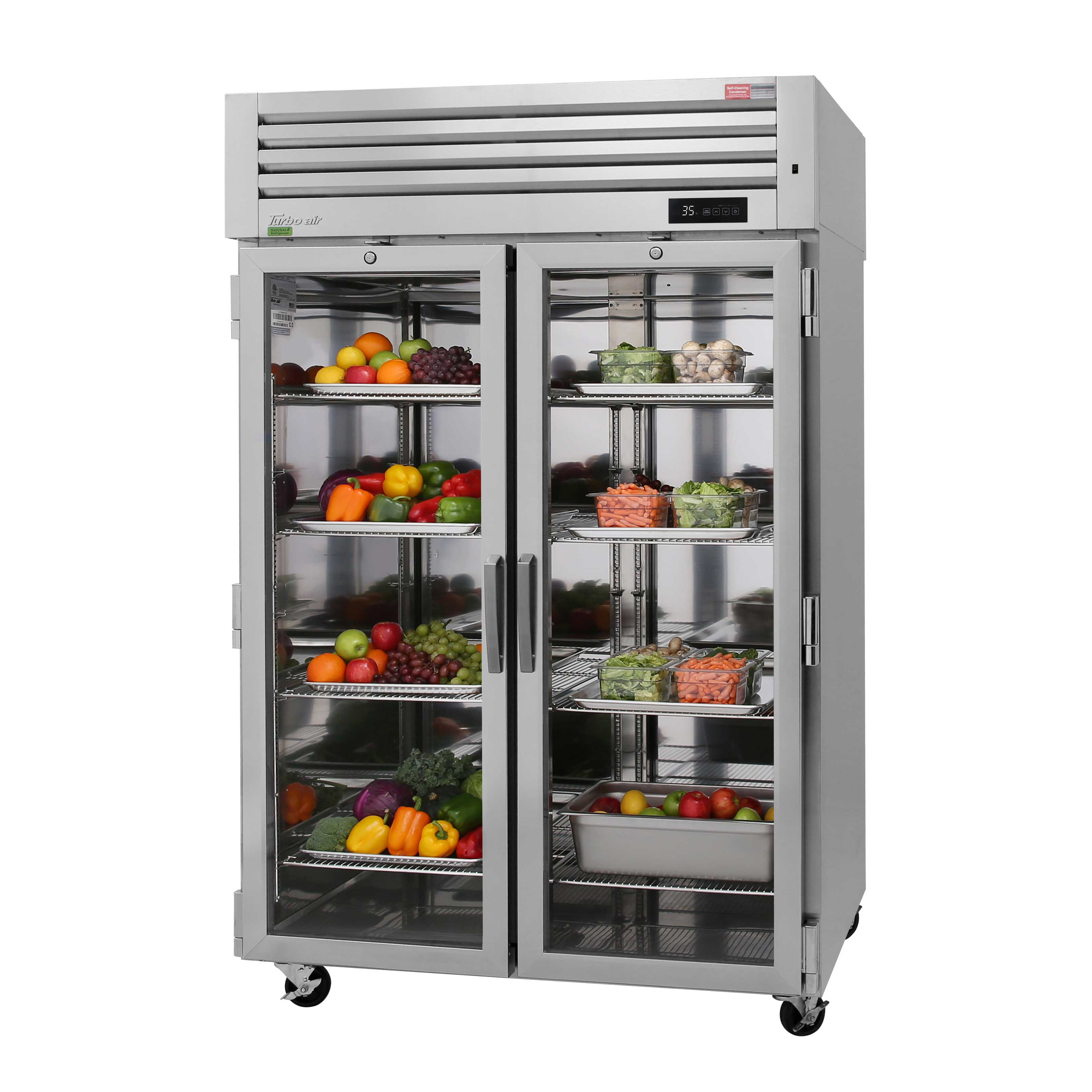 Turbo Air PRO-50R-G-N refrigerator, reach-in