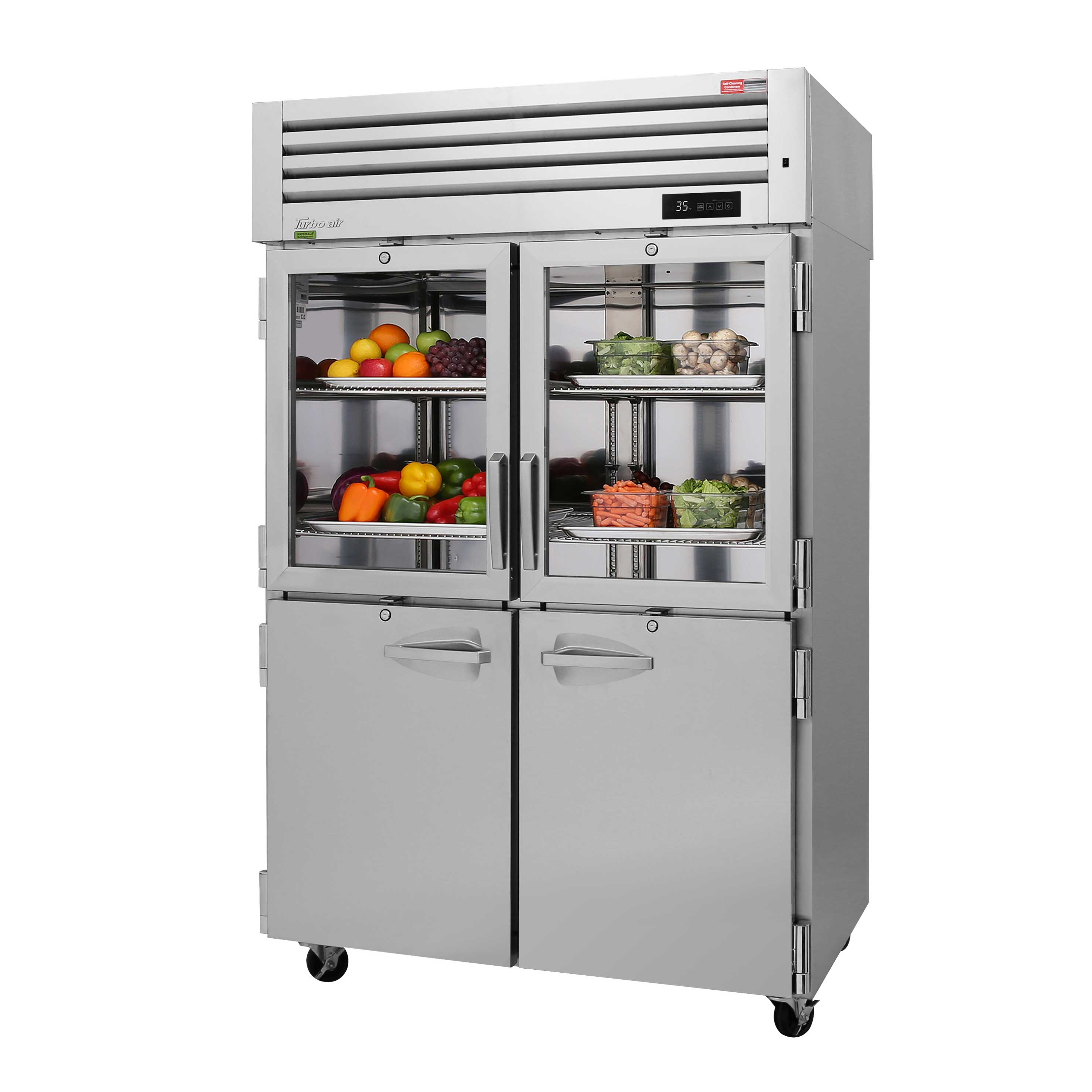 Turbo Air PRO-50R-GSH-N refrigerator, reach-in