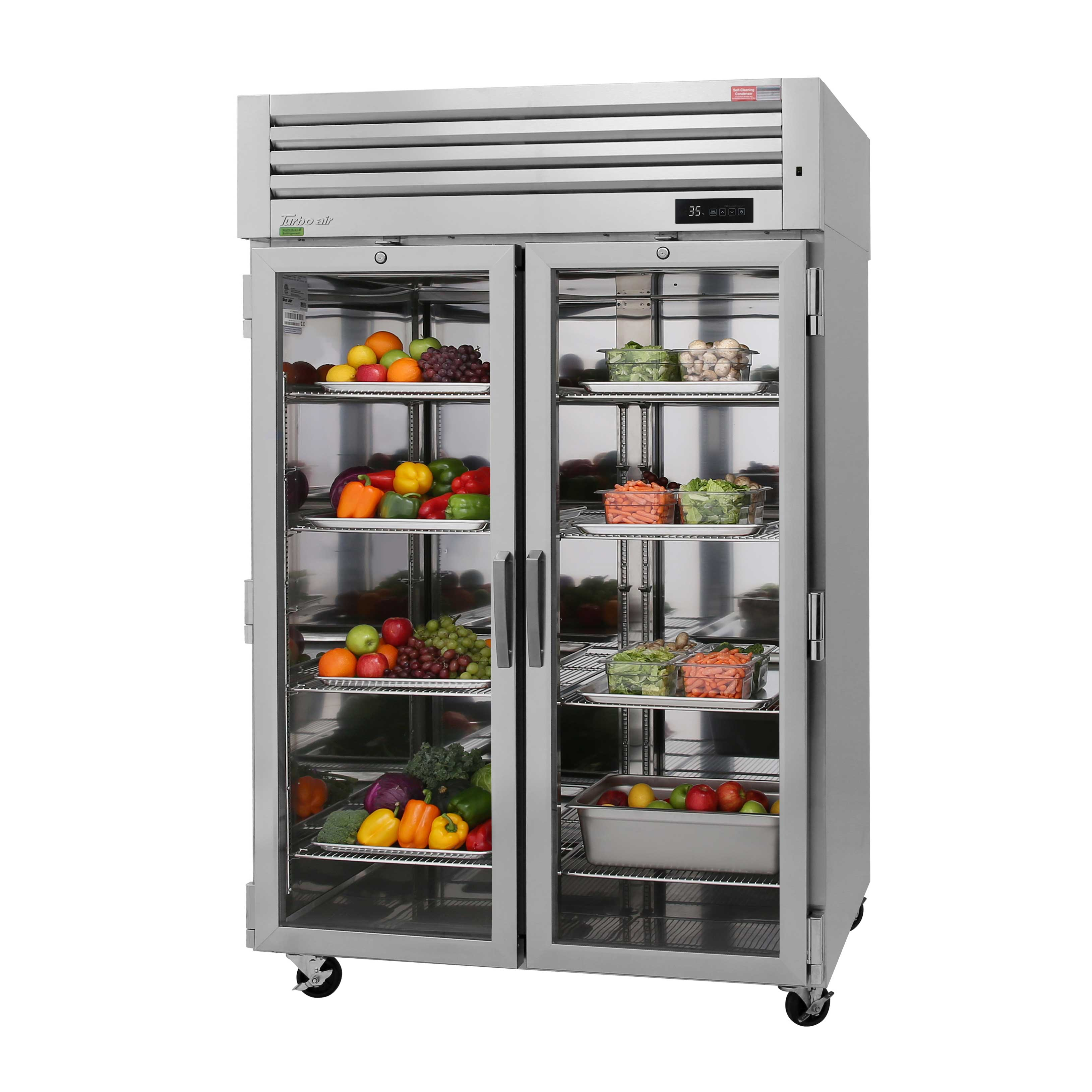 Turbo Air PRO-50R-GS-PT-N refrigerator, pass-thru