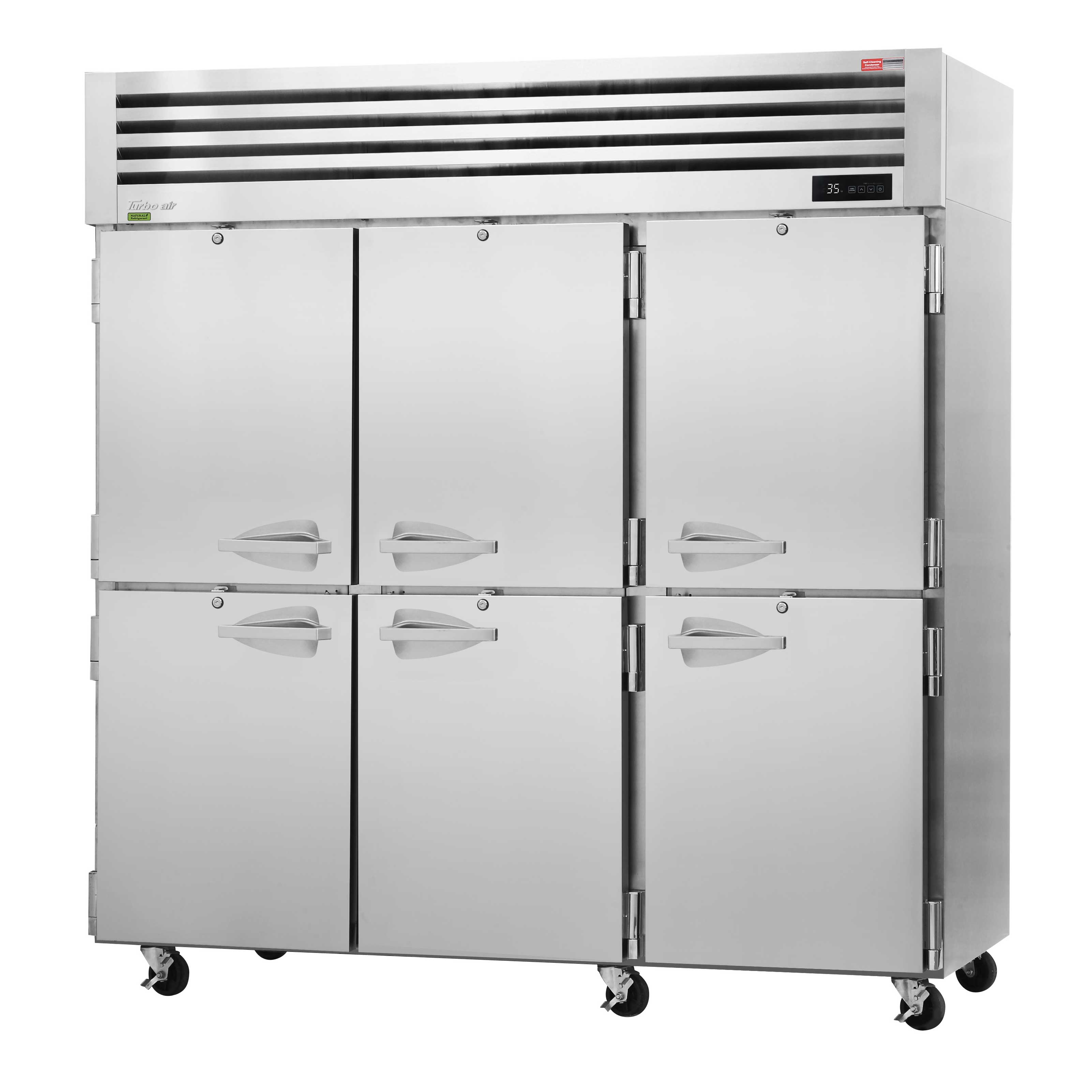 Turbo Air PRO-77-6R refrigerator, reach-in