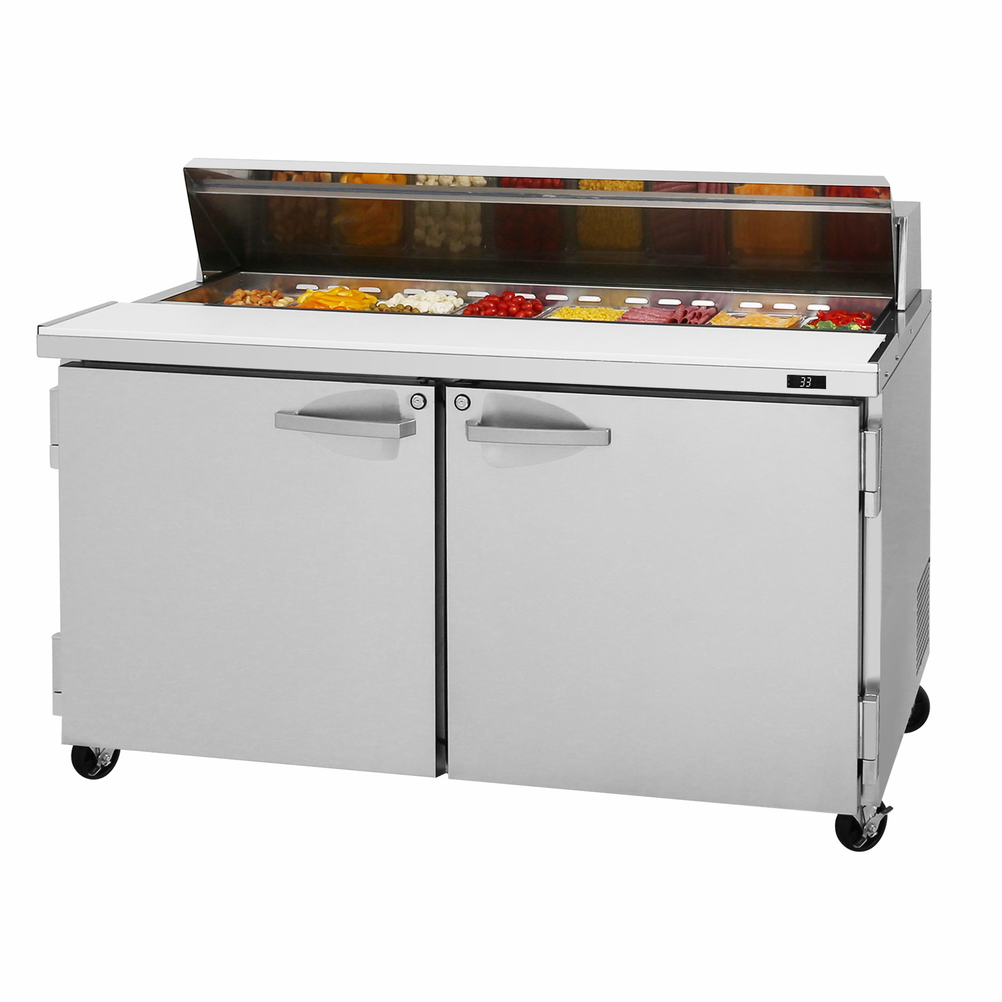 Turbo Air PST-60-N refrigerated counter, sandwich / salad unit