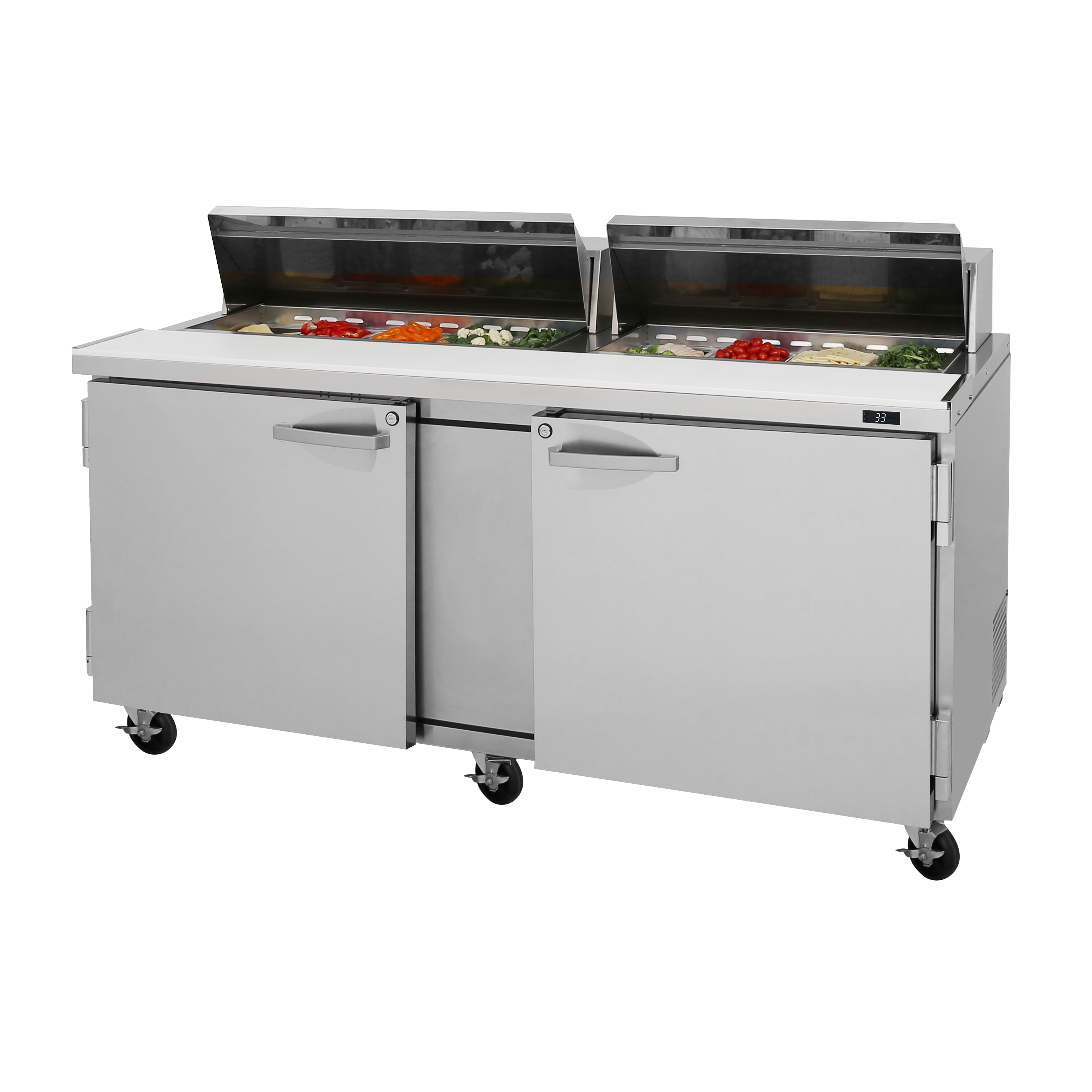 Turbo Air PST-72-N refrigerated counter, sandwich / salad unit