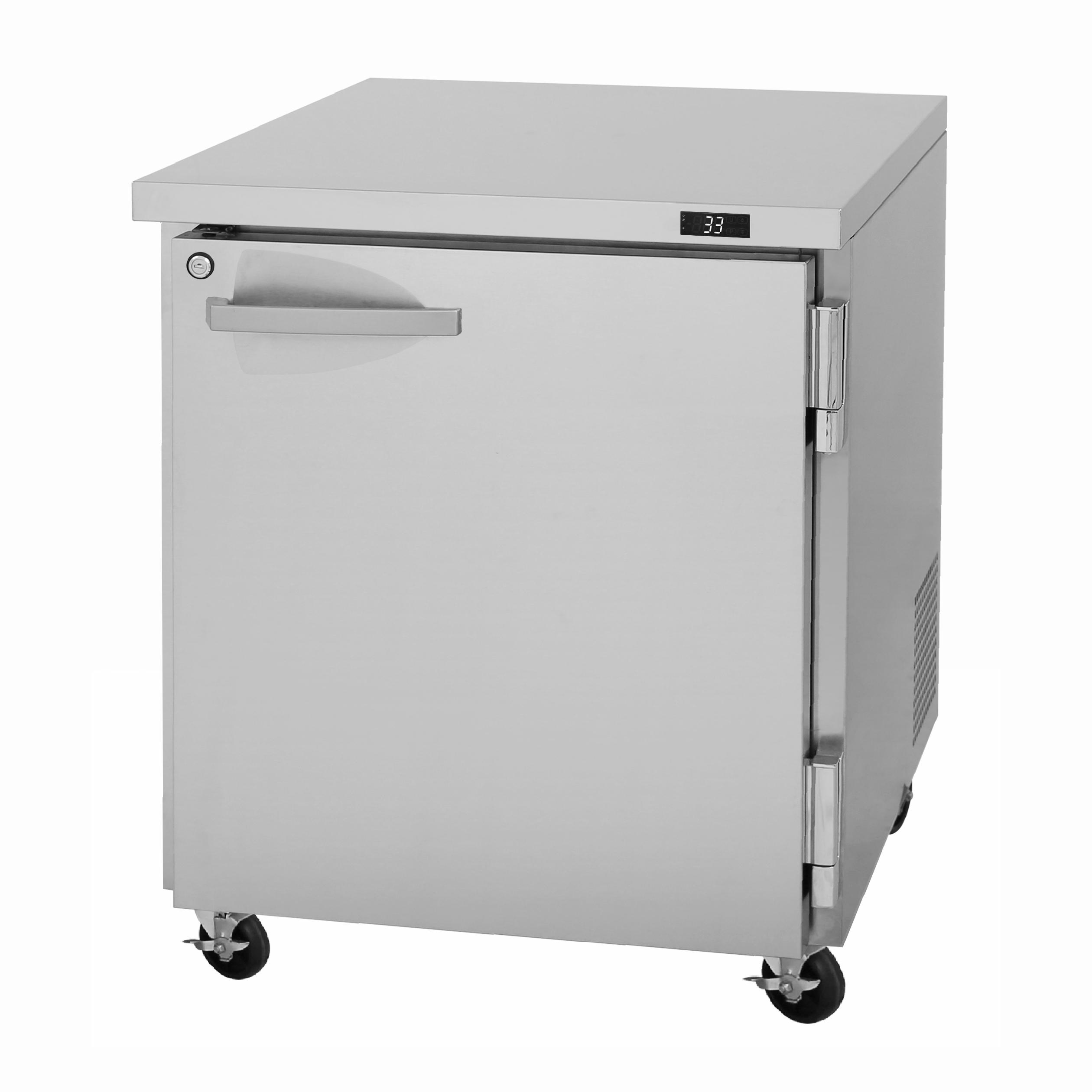 Turbo Air PUF-28-N freezer, undercounter, reach-in