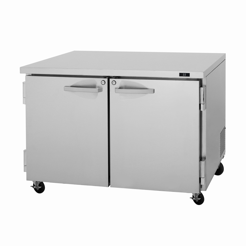 Turbo Air PUF-48-N freezer, undercounter, reach-in