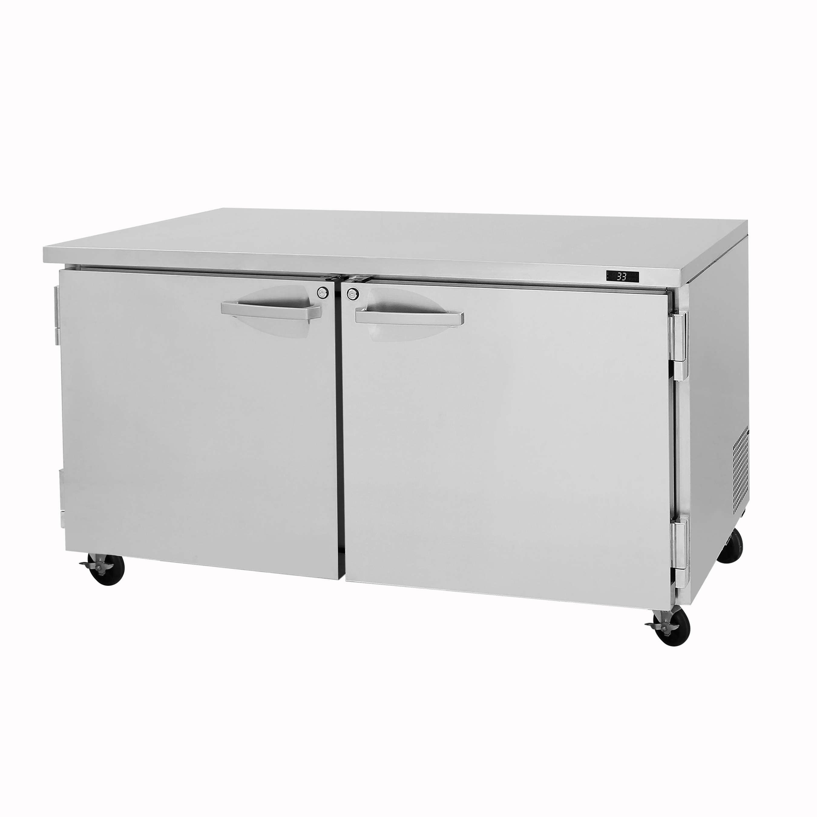 Turbo Air PUF-60-N freezer, undercounter, reach-in