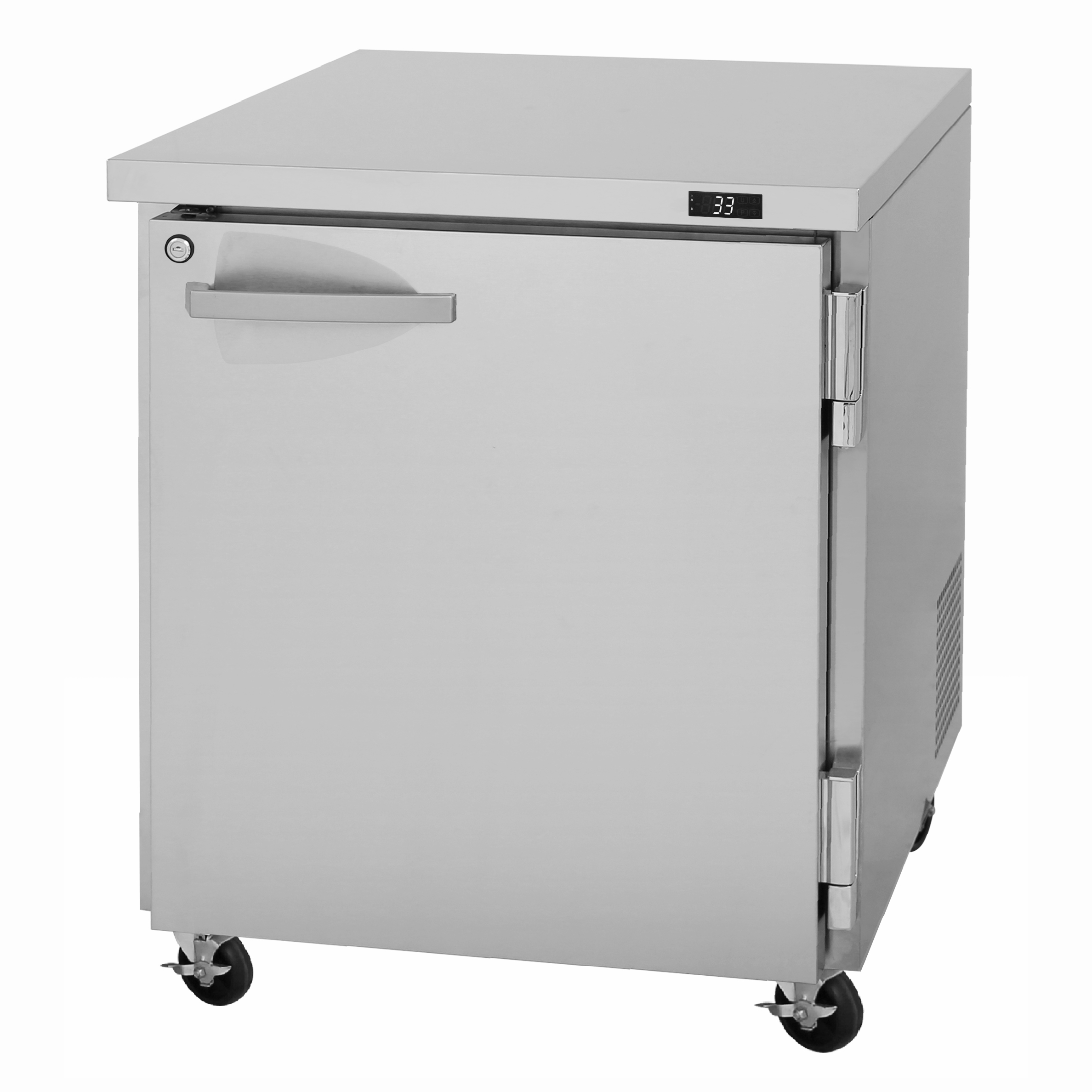 Turbo Air PUR-28-N refrigerator, undercounter, reach-in