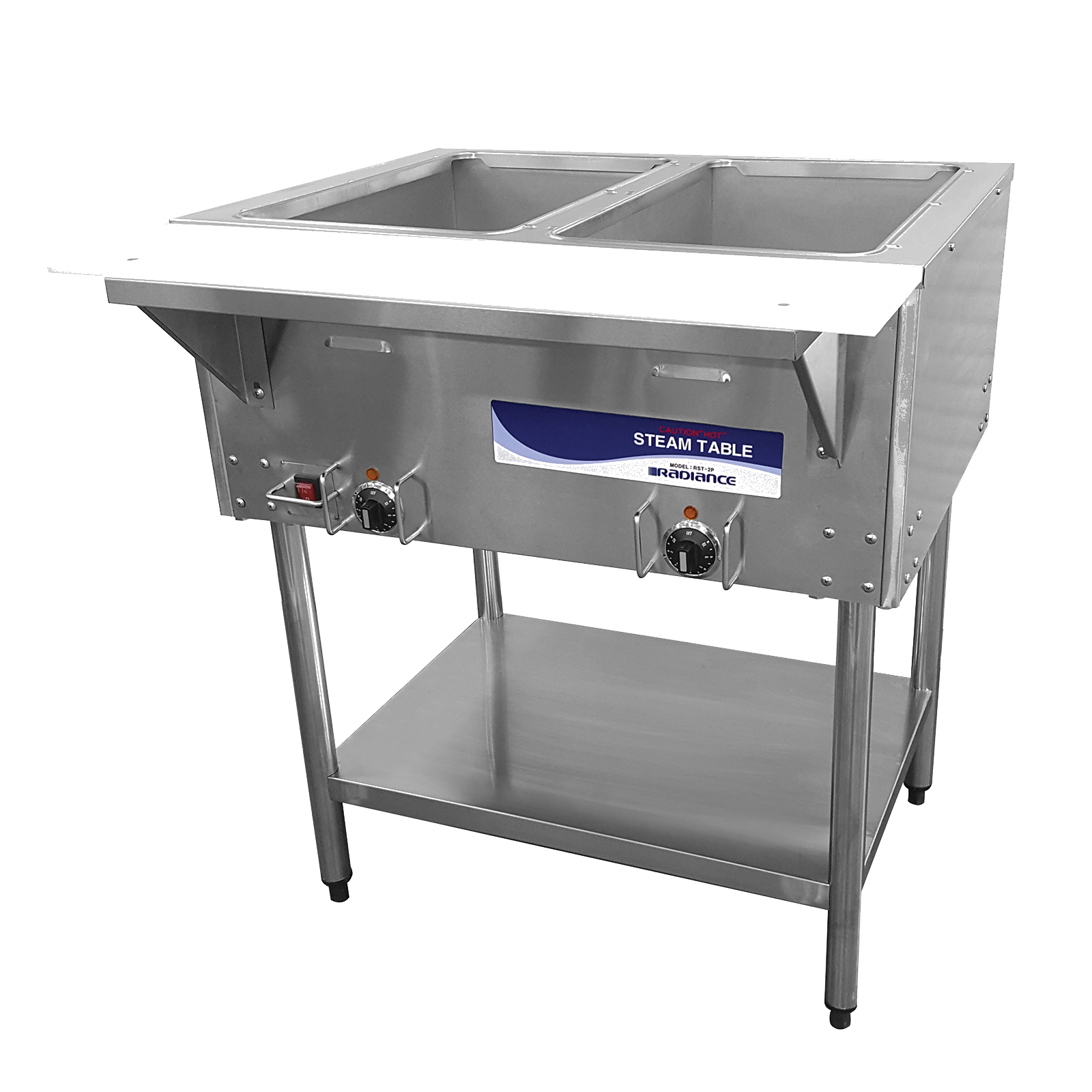 Turbo Air RST-2P serving counter, hot food, electric