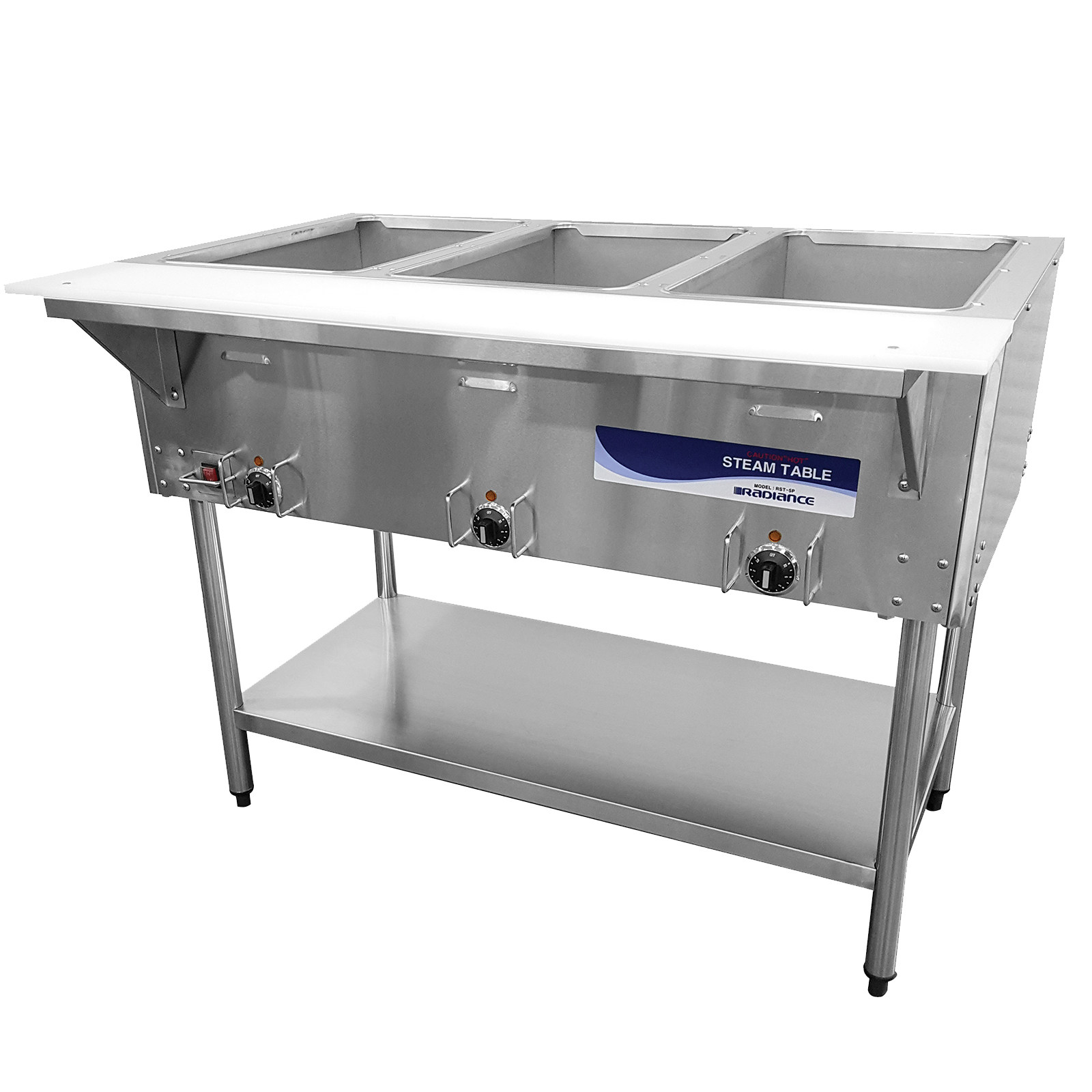 Turbo Air RST-3P serving counter, hot food, electric