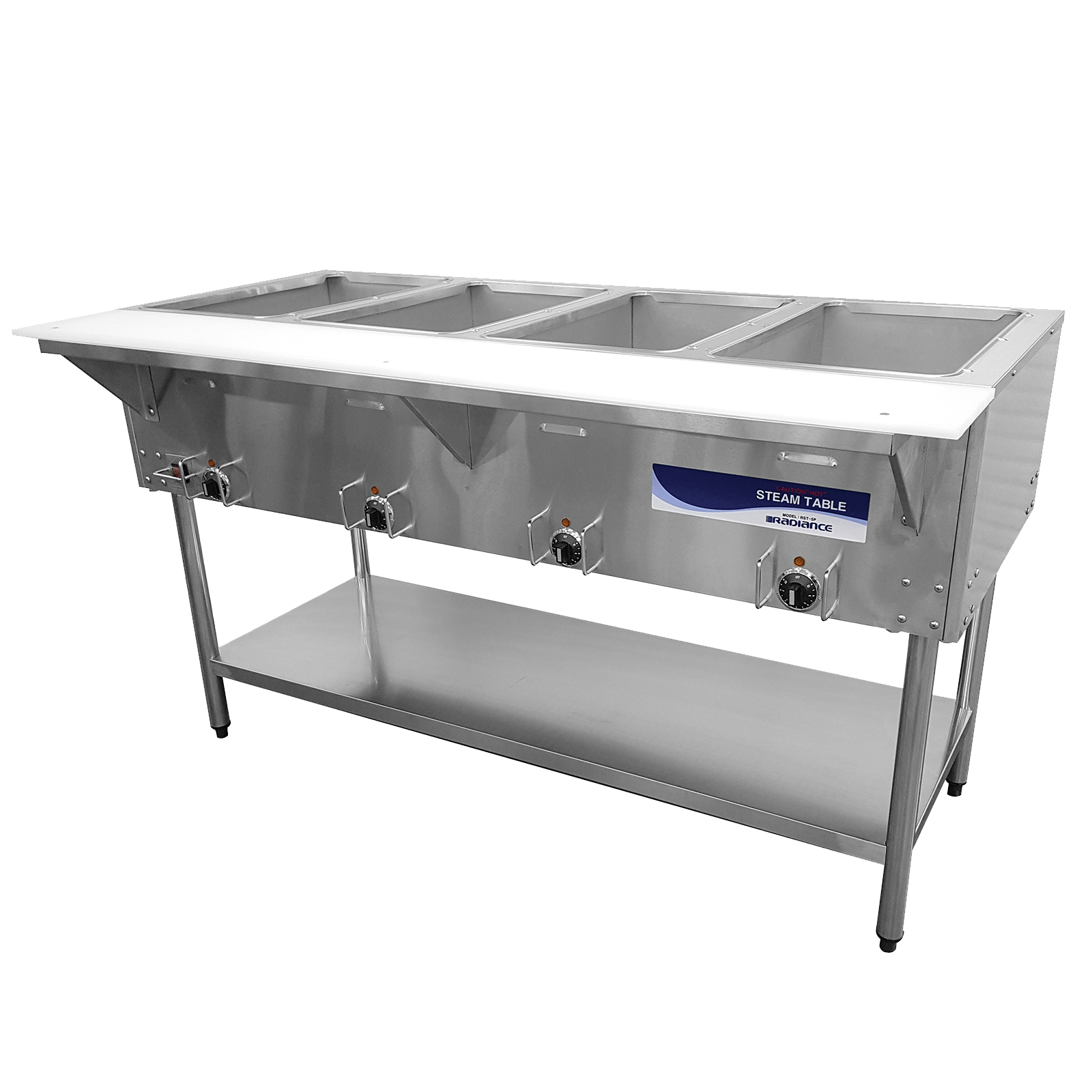 Turbo Air RST-4P-240 serving counter, hot food, electric