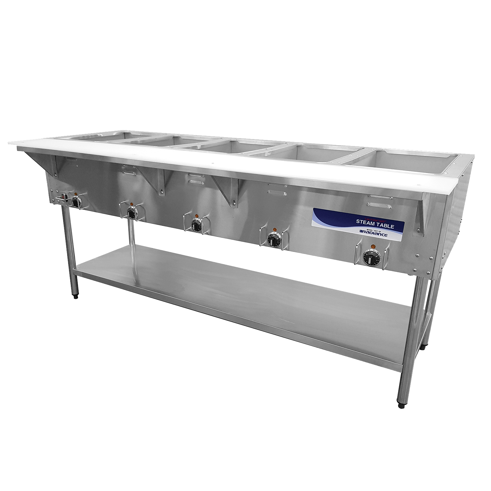 Turbo Air RST-5P-240 serving counter, hot food, electric