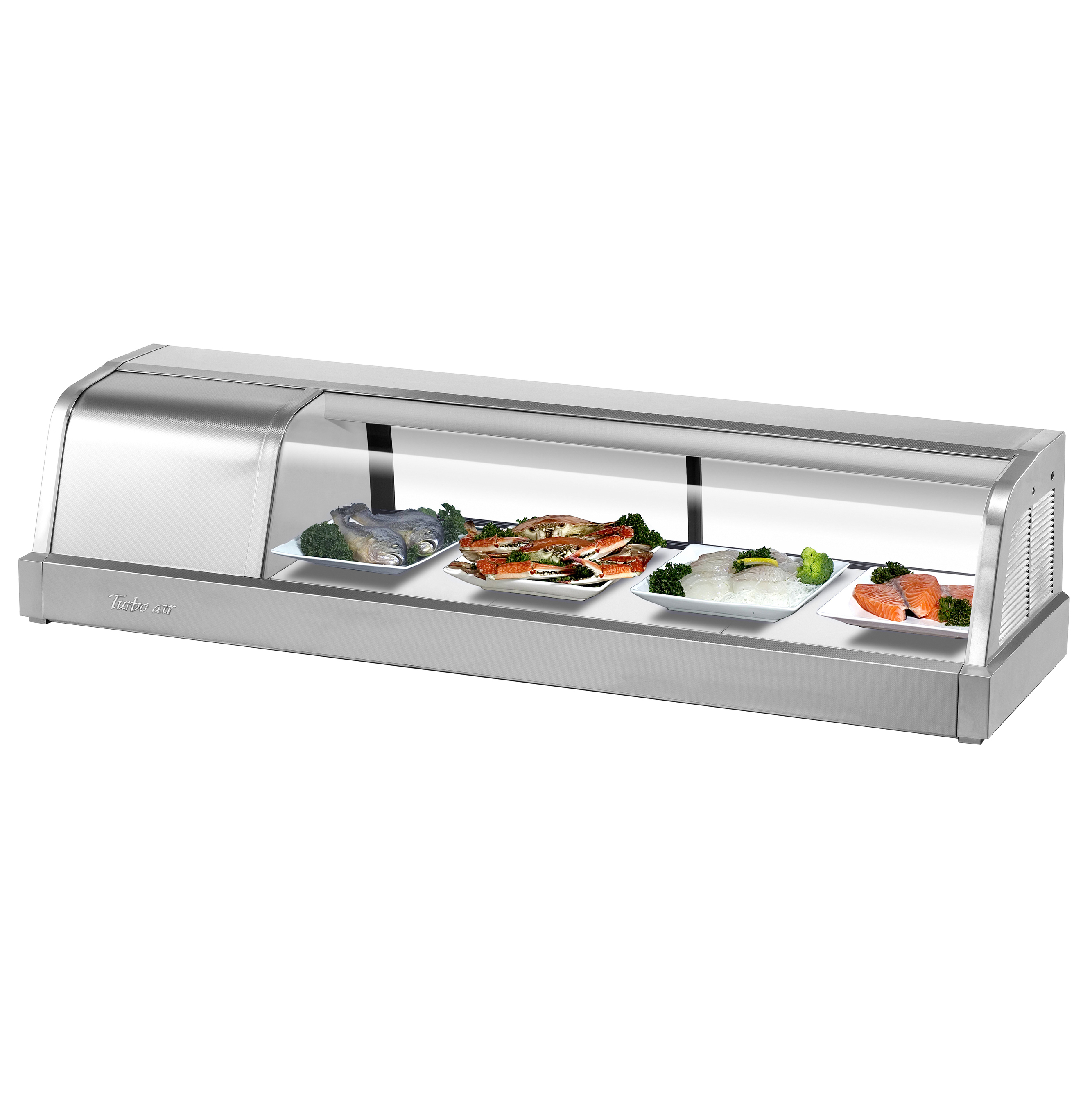 Turbo Air SAK-50R(L)-N display case, refrigerated sushi