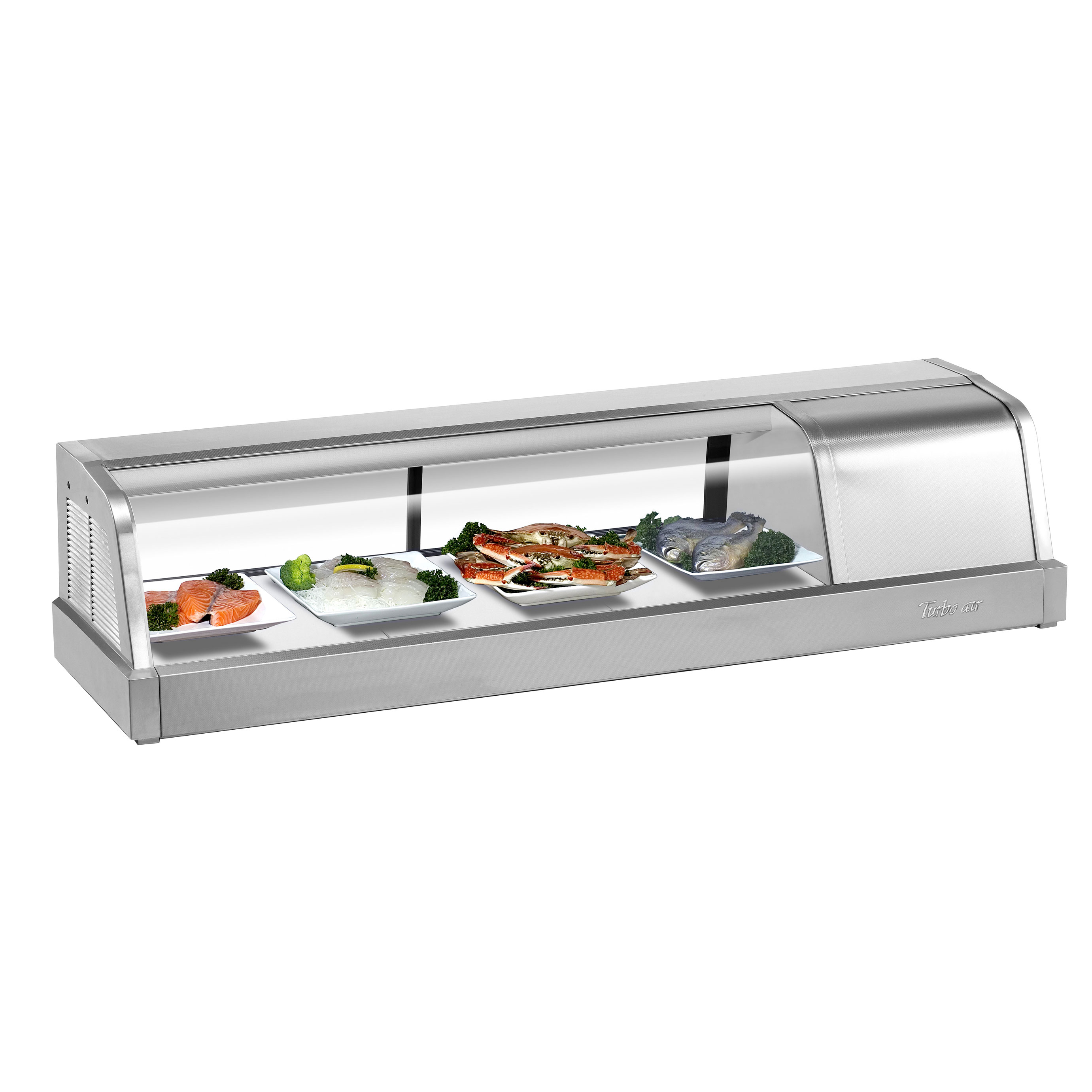 Turbo Air SAK-50R-N display case, refrigerated sushi