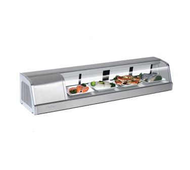 Turbo Air SAK-60R(L)-N display case, refrigerated sushi