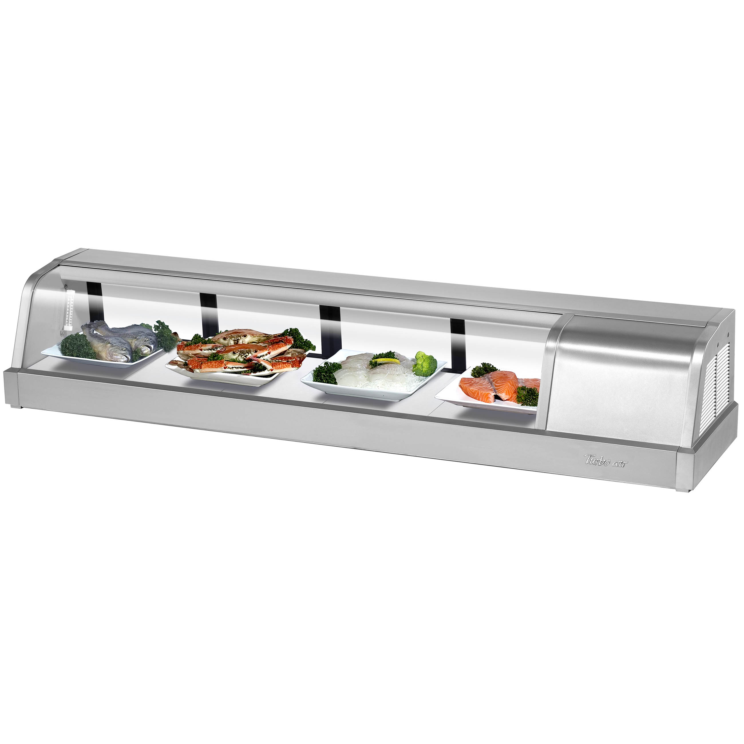 Turbo Air SAK-60R-N display case, refrigerated sushi