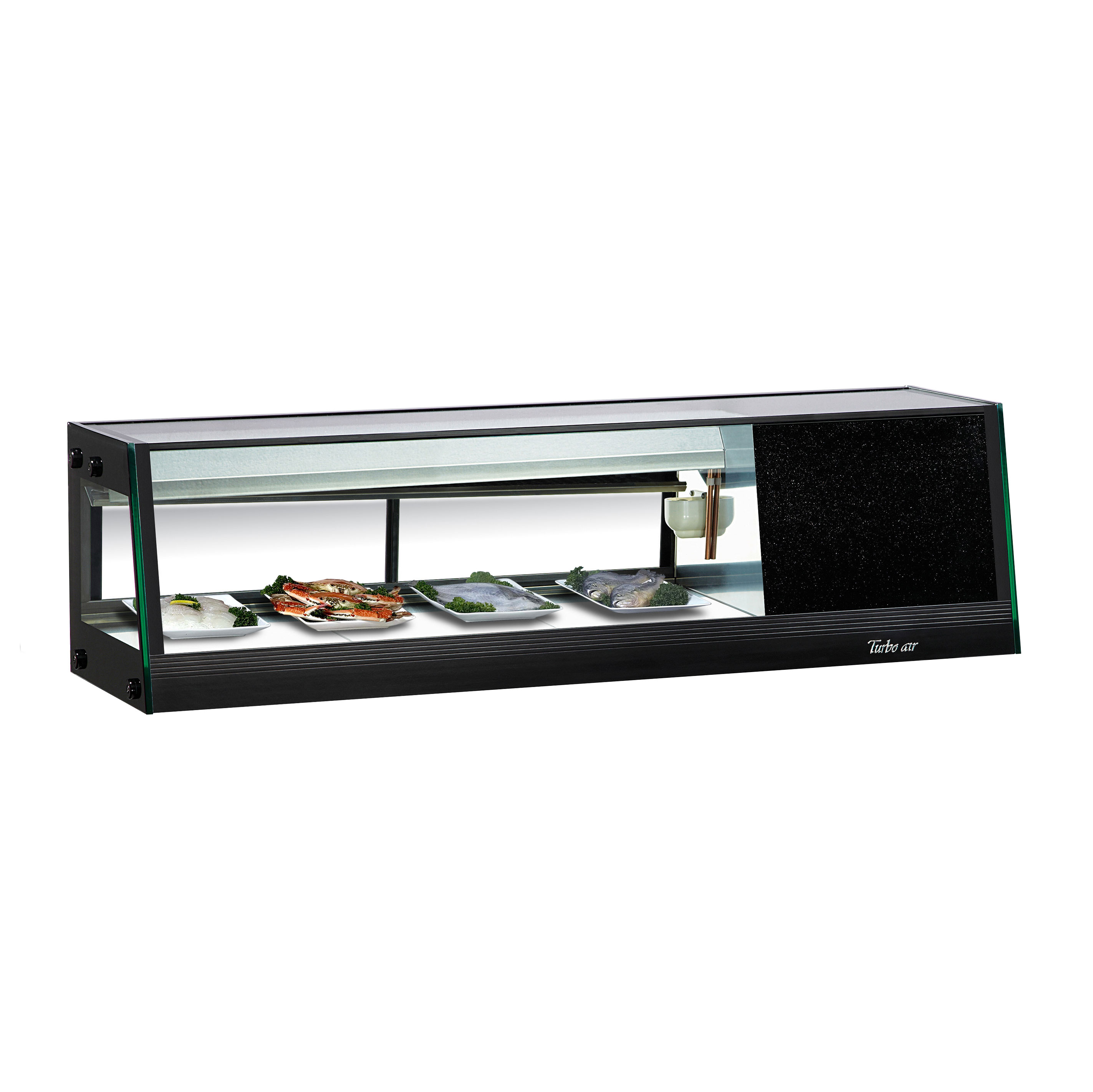 Turbo Air SAS-50R(L)-N display case, refrigerated sushi