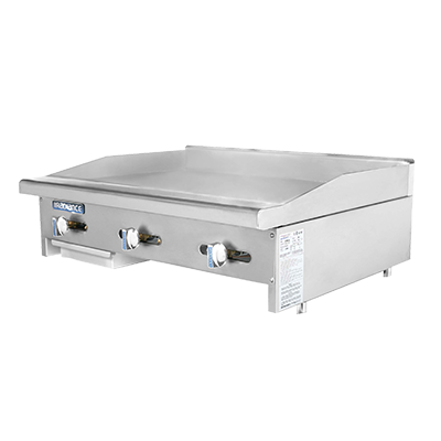 Turbo Air TAMG-36 griddle, gas, countertop