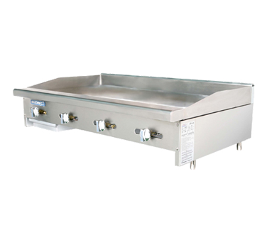 Turbo Air TAMG-48 griddle, gas, countertop