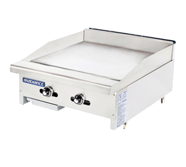 TATG-24 Turbo Air griddle, gas, countertop