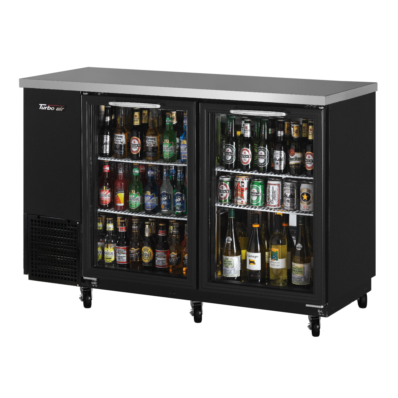 Turbo Air TBB-24-48SG-N back bar cabinet, refrigerated