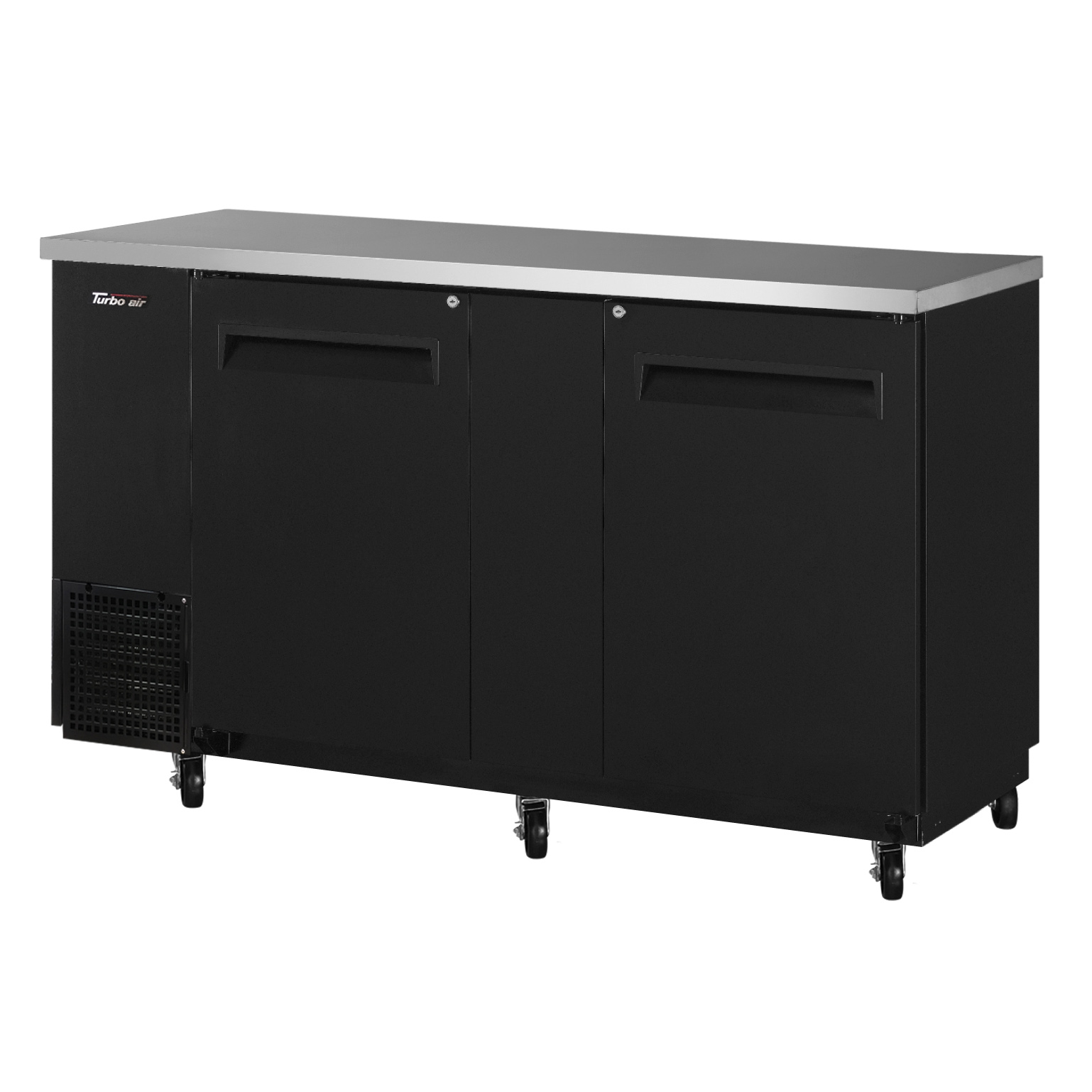 Turbo Air TBB-24-60SB-N6 back bar cabinet, refrigerated