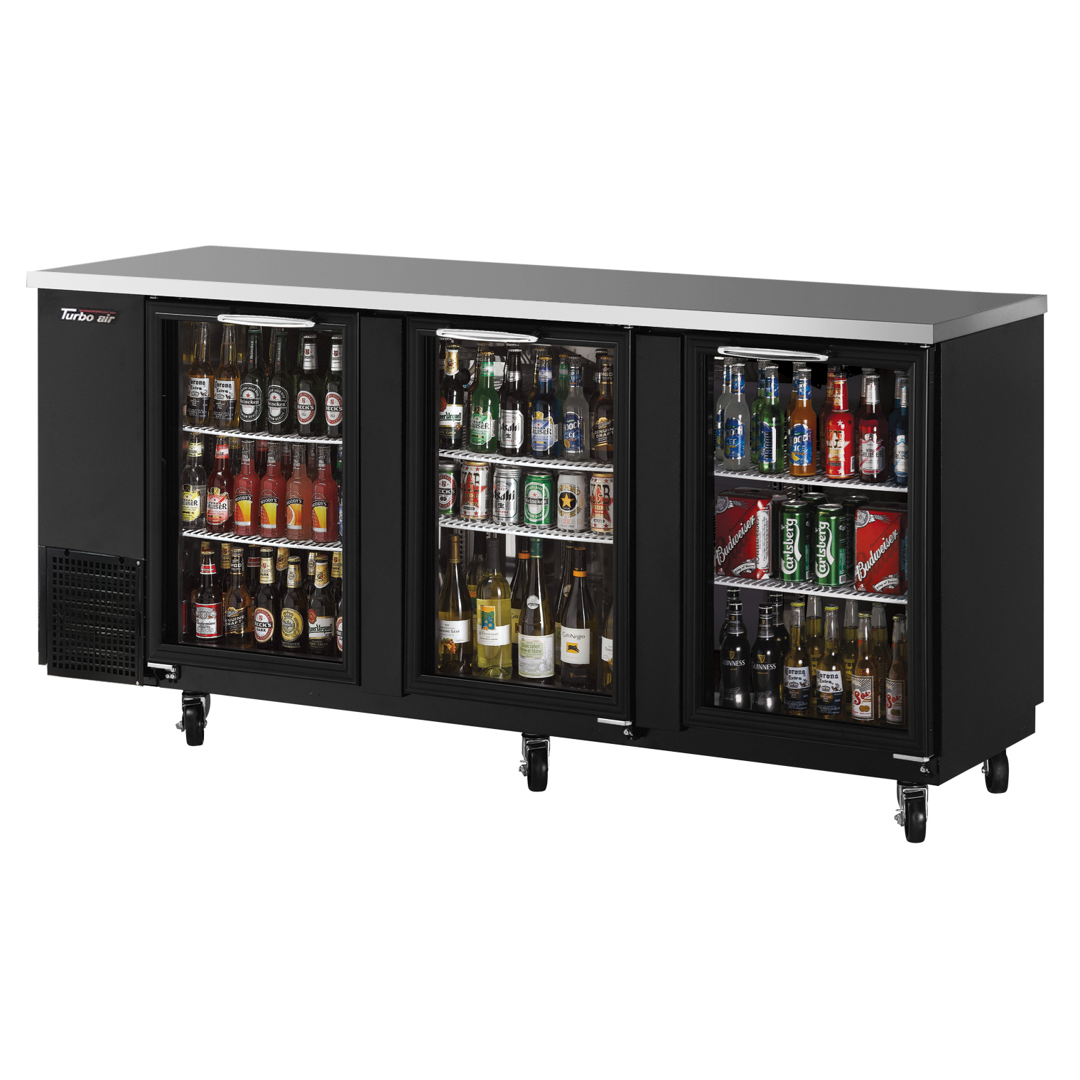Turbo Air TBB-24-72SG-N back bar cabinet, refrigerated