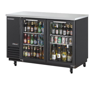 Turbo Air TBB-2SG back bar cabinet, refrigerated