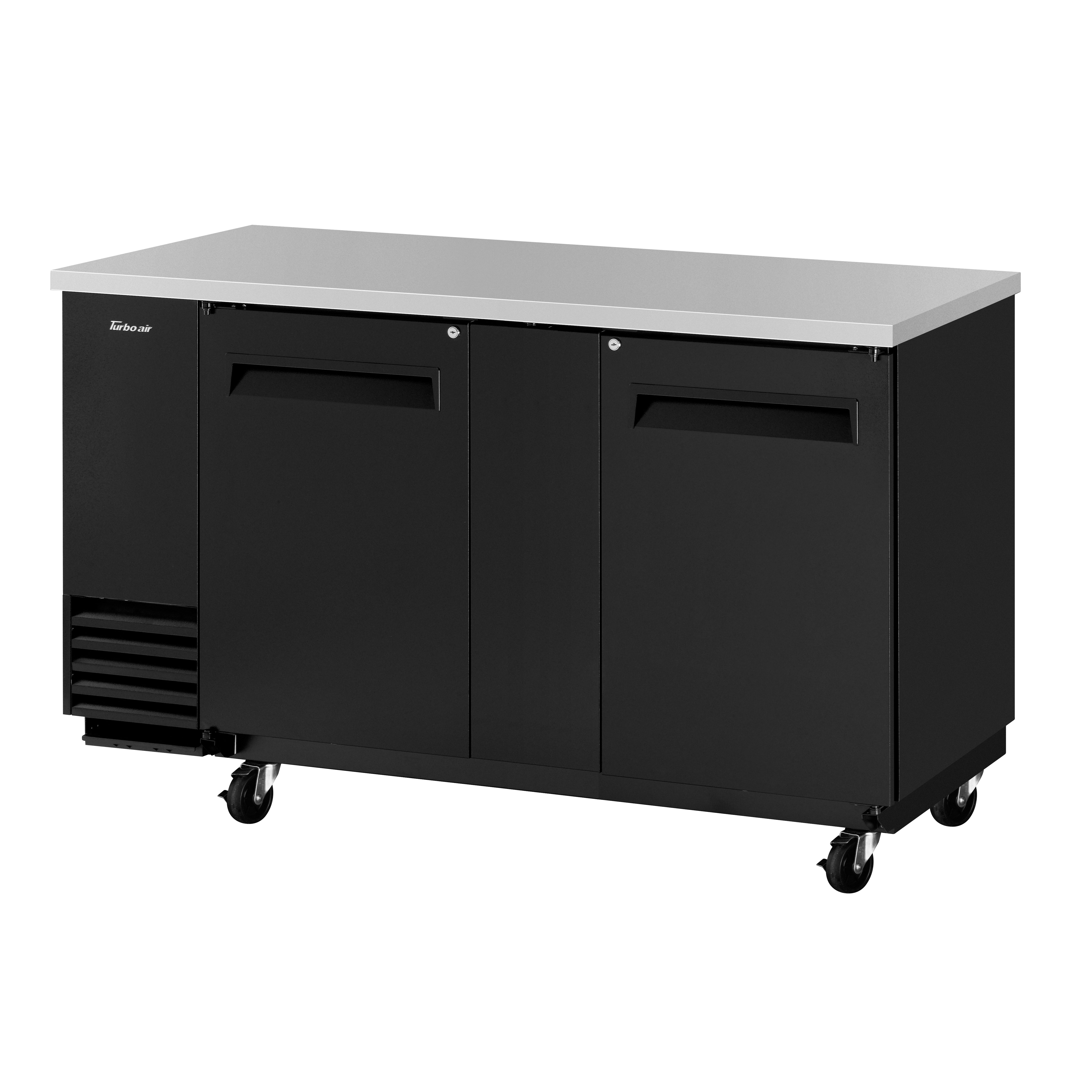 Turbo Air TBB-3SB-N6 back bar cabinet, refrigerated