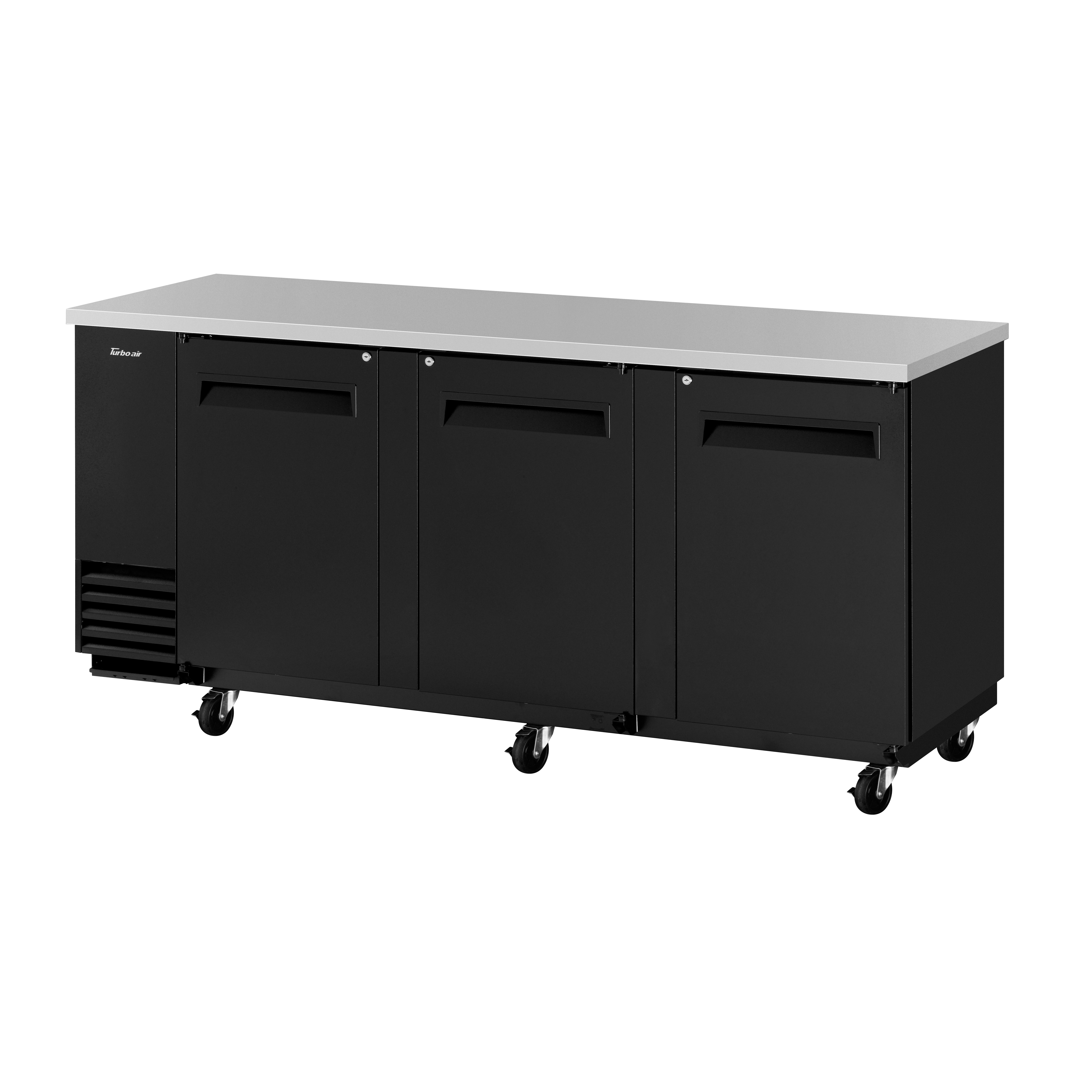 Turbo Air TBB-4SB-N back bar cabinet, refrigerated