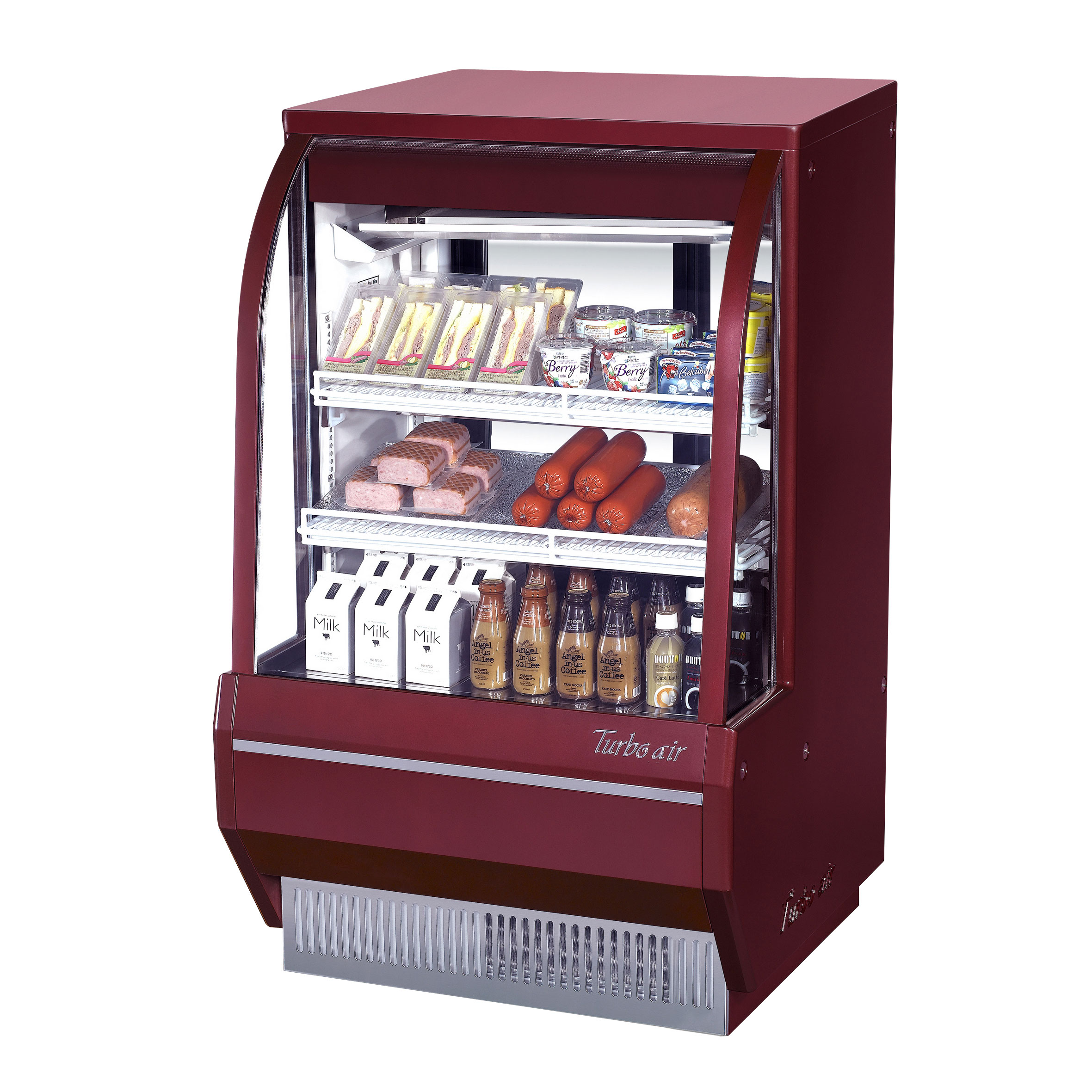 Turbo Air TCDD-36-2-H-R display case, refrigerated deli
