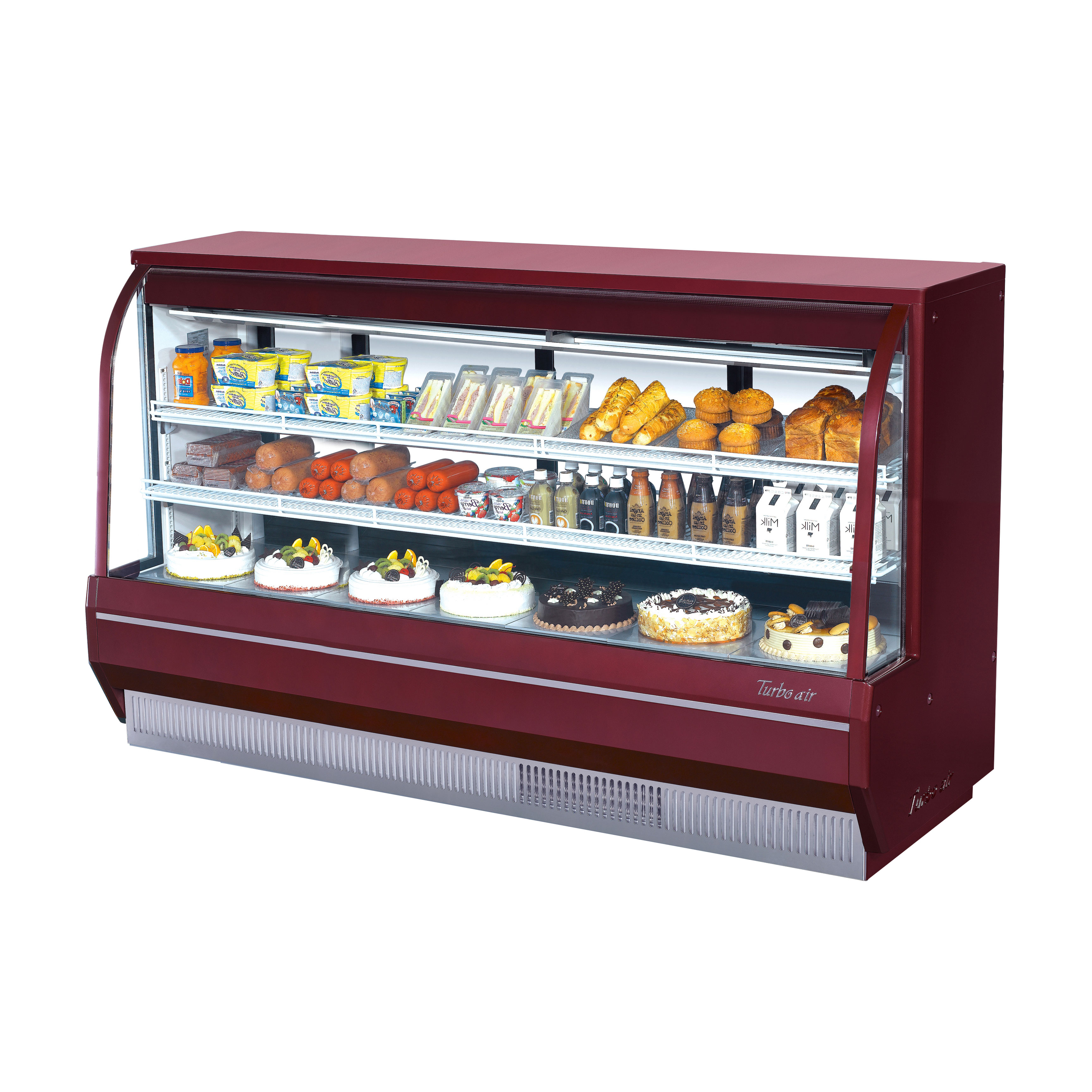 Turbo Air TCDD-96-4-H-R display case, refrigerated deli