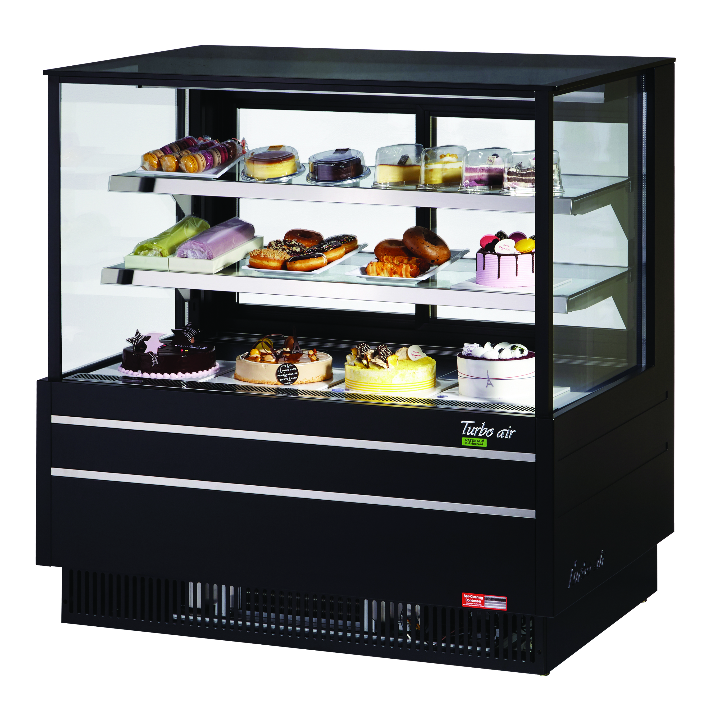Turbo Air TCGB-48UF-W(B)-N display case, refrigerated