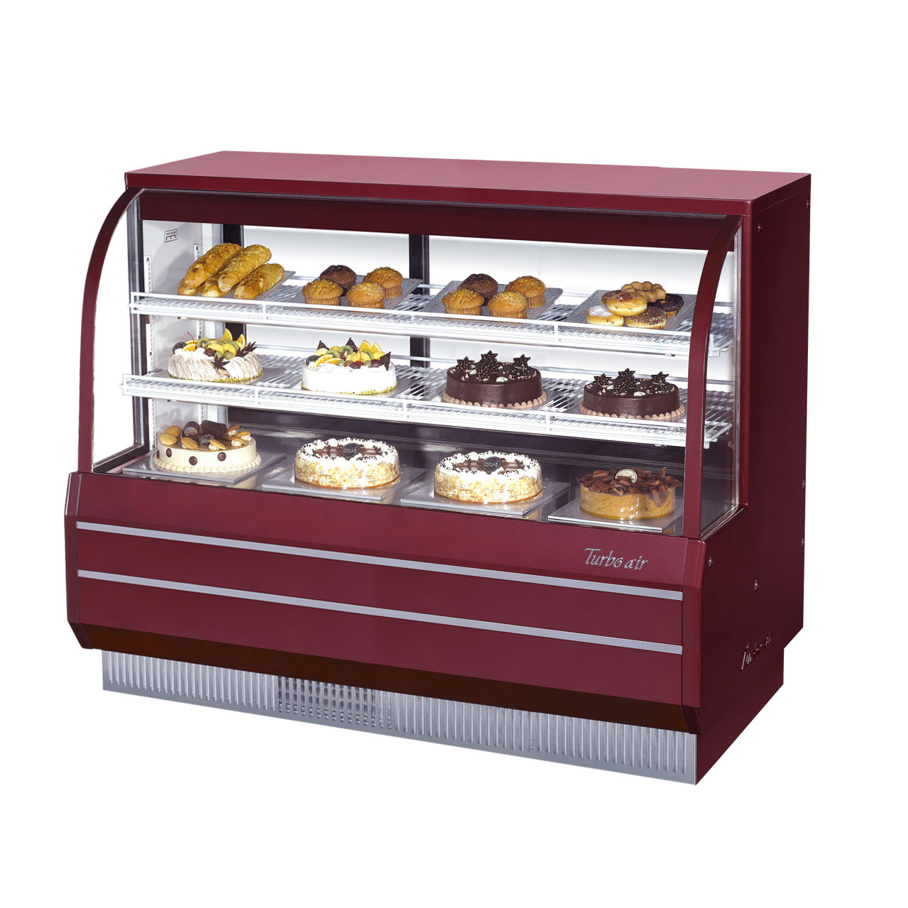 Turbo Air TCGB-60-R-N display case, refrigerated bakery