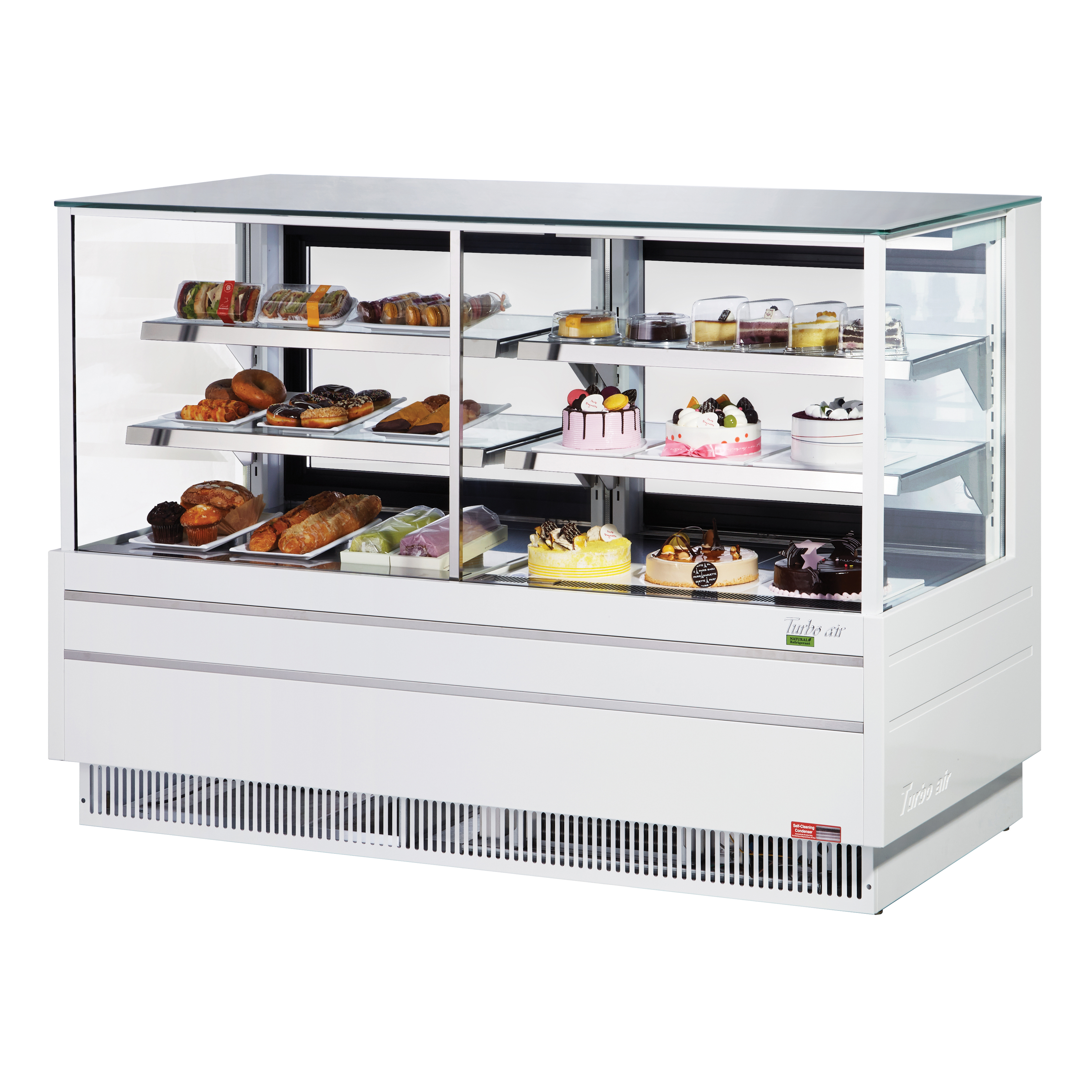 Turbo Air TCGB-60UF-CO-W(B)-N display case, refrigerated