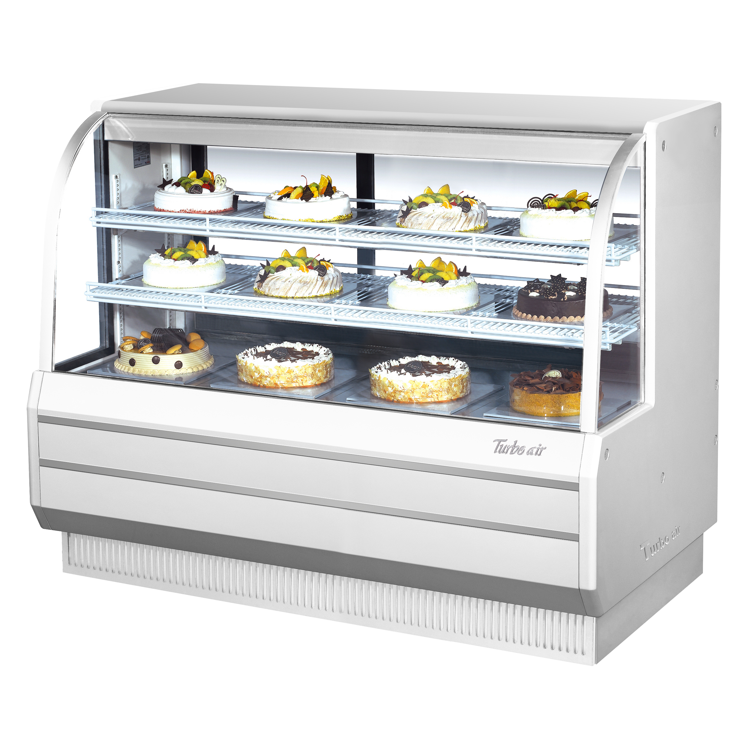 Turbo Air TCGB-60-W(B)-N display case, refrigerated bakery