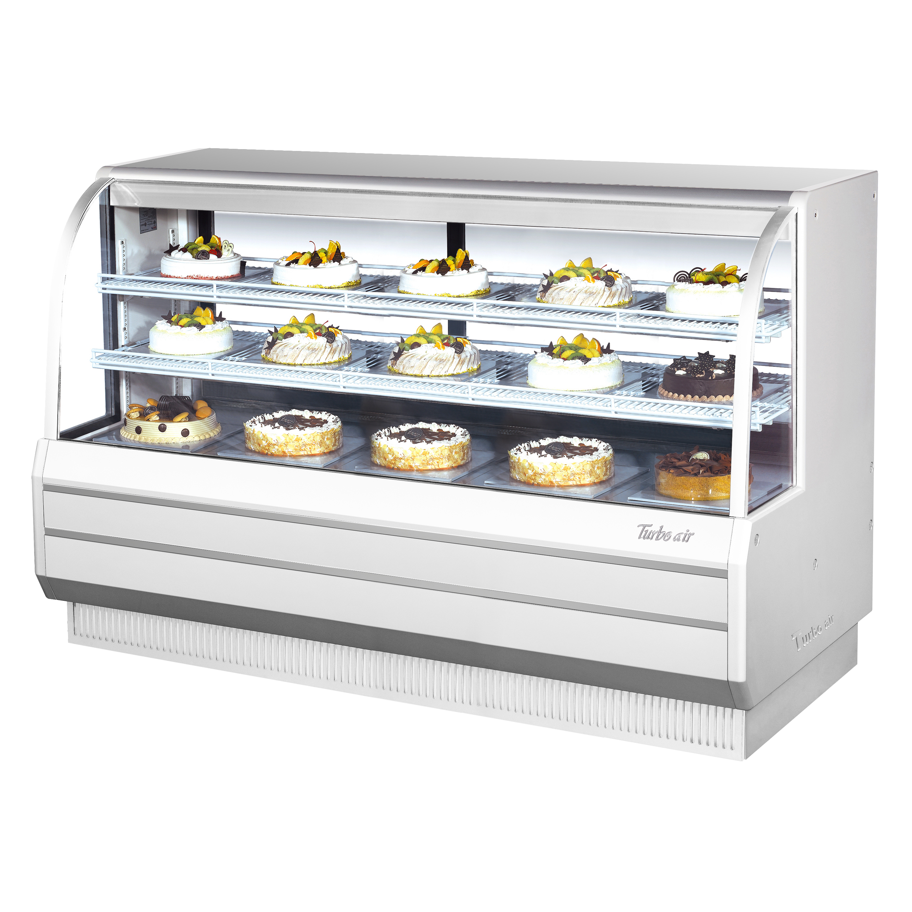 Turbo Air TCGB-72DR-W(B) display case, non-refrigerated bakery