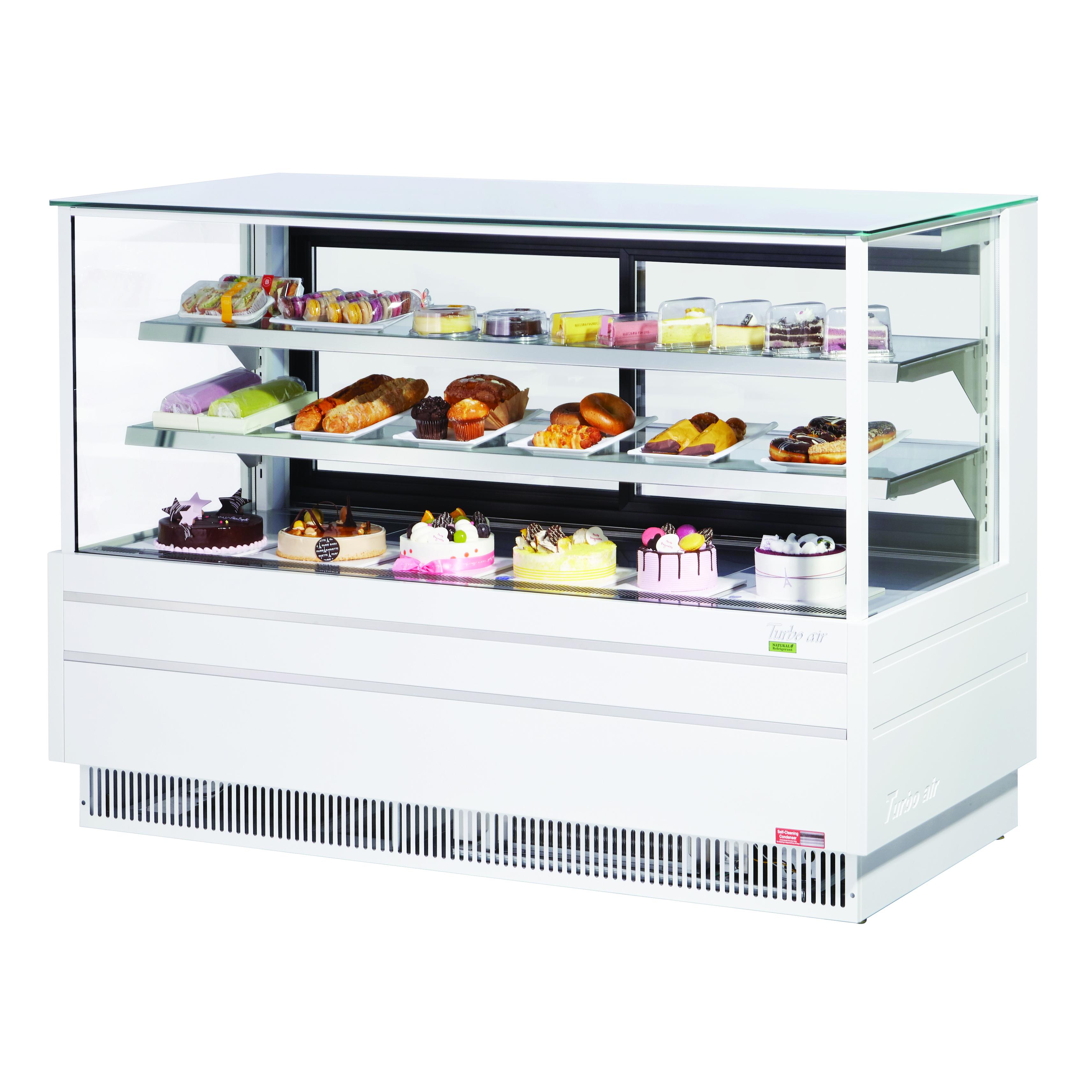 Turbo Air TCGB-72UF-W(B)-N display case, refrigerated