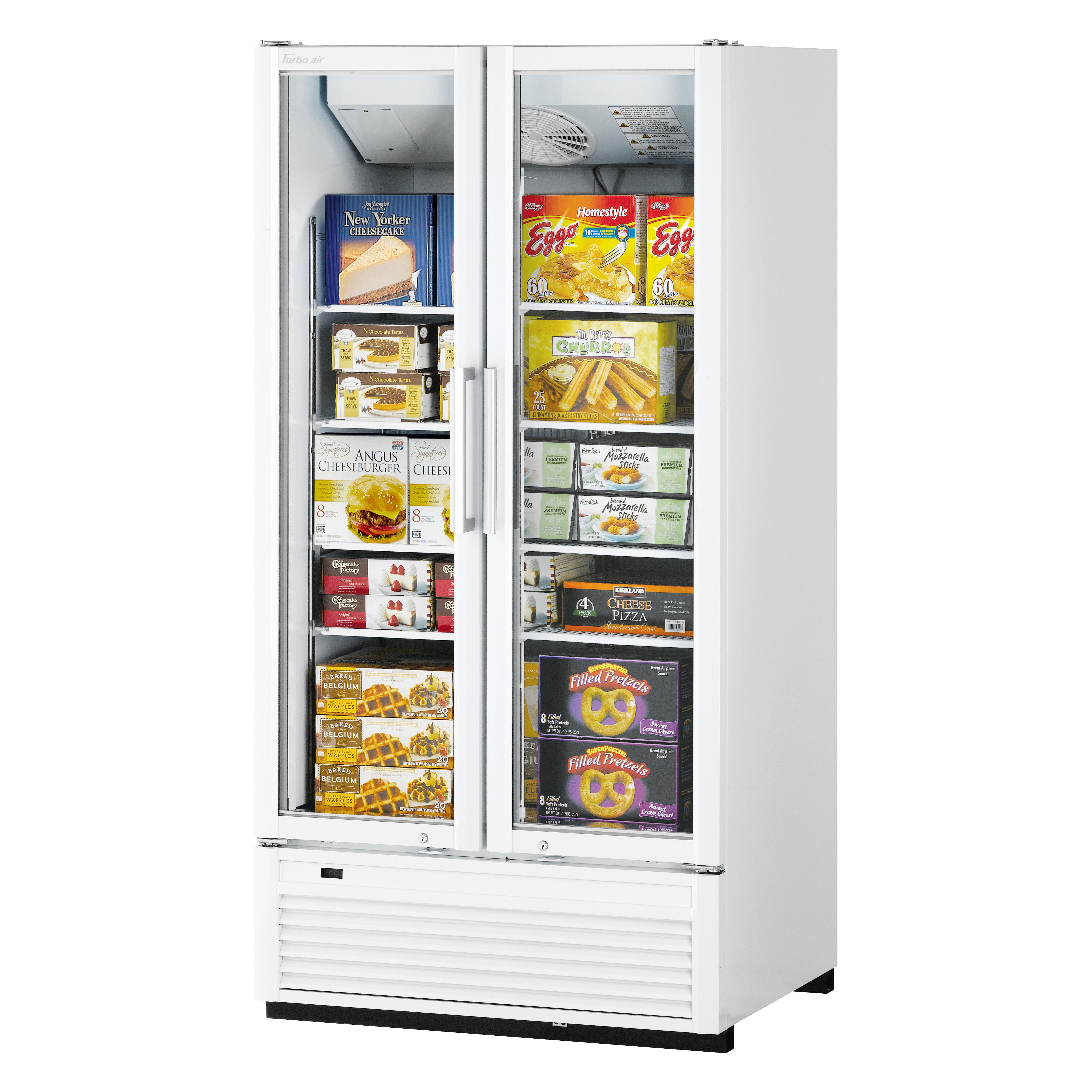 Turbo Air TGF-35SDH-N freezer, merchandiser