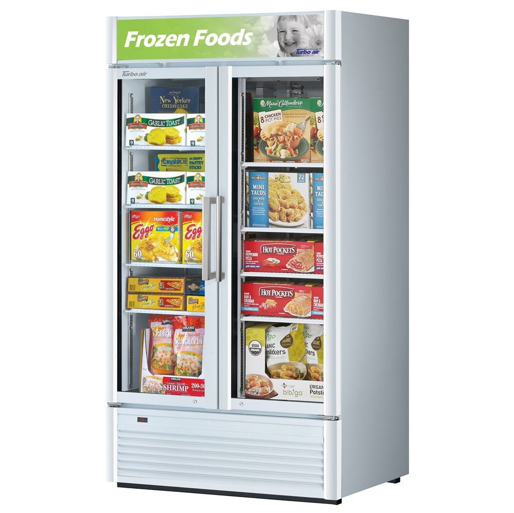 Turbo Air TGF-35SD-N freezer, merchandiser