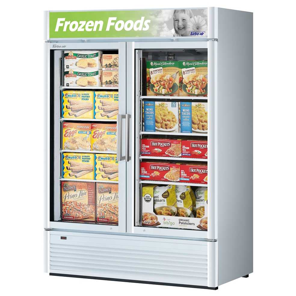 Turbo Air TGF-47SD-N freezer, merchandiser
