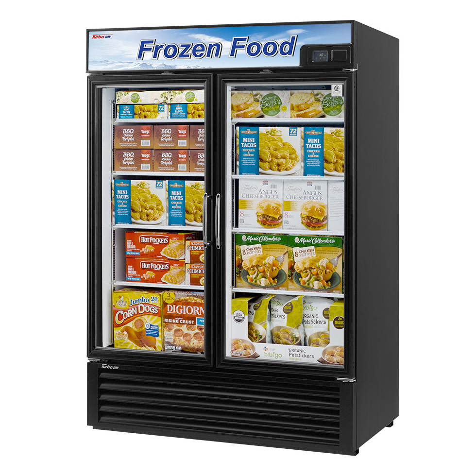 Turbo Air TGF-49FB-N freezer, merchandiser
