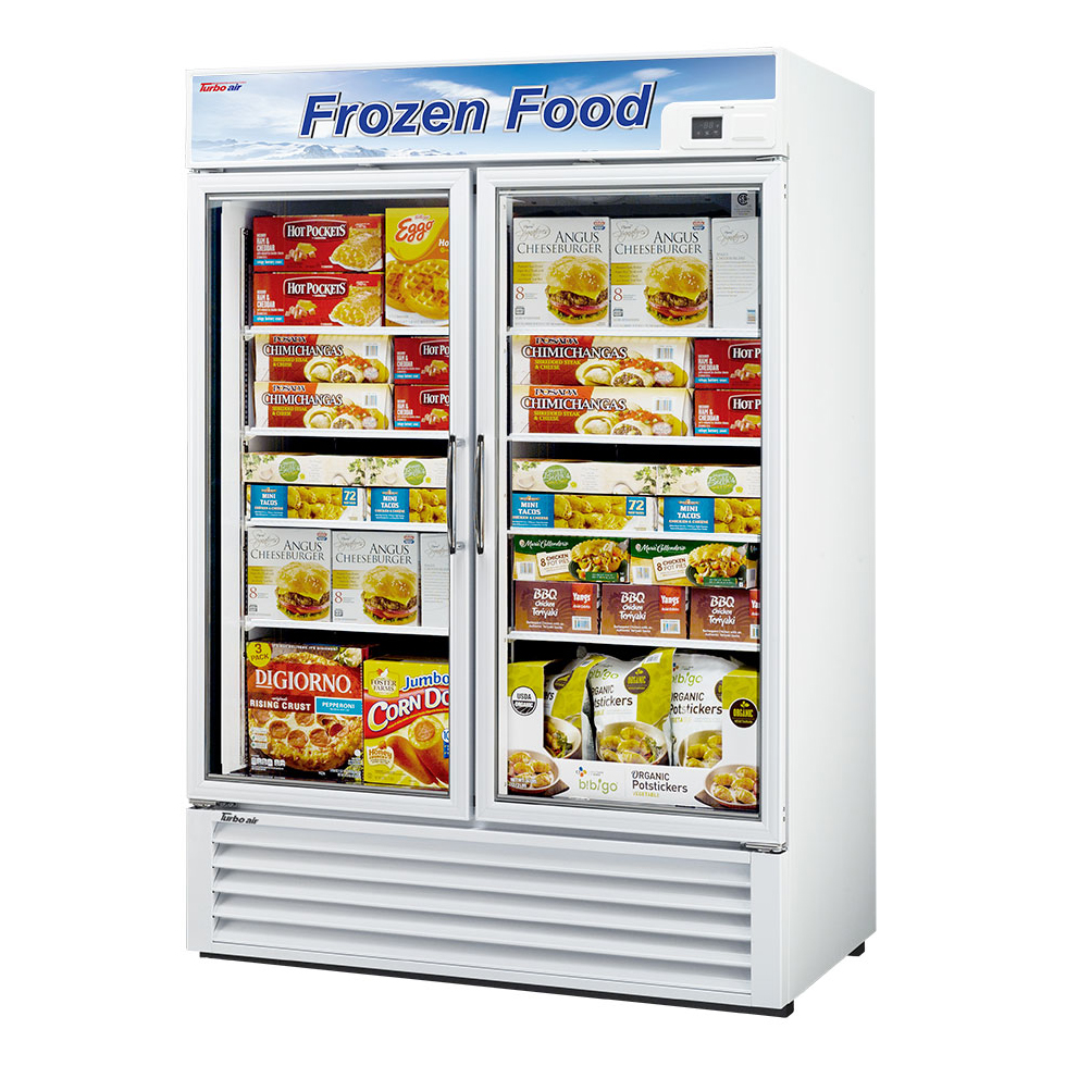 Turbo Air TGF-49F-N freezer, merchandiser