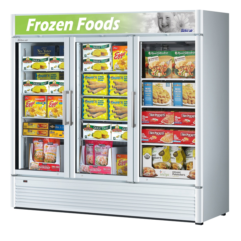 Turbo Air TGF-72SD-N freezer, merchandiser
