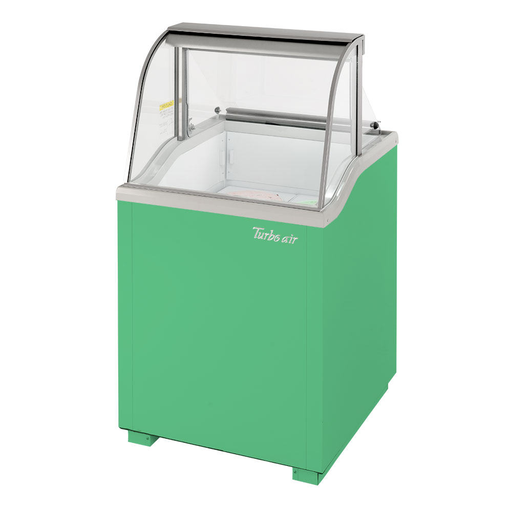 Turbo Air TIDC-26G-N display case, dipping ice cream